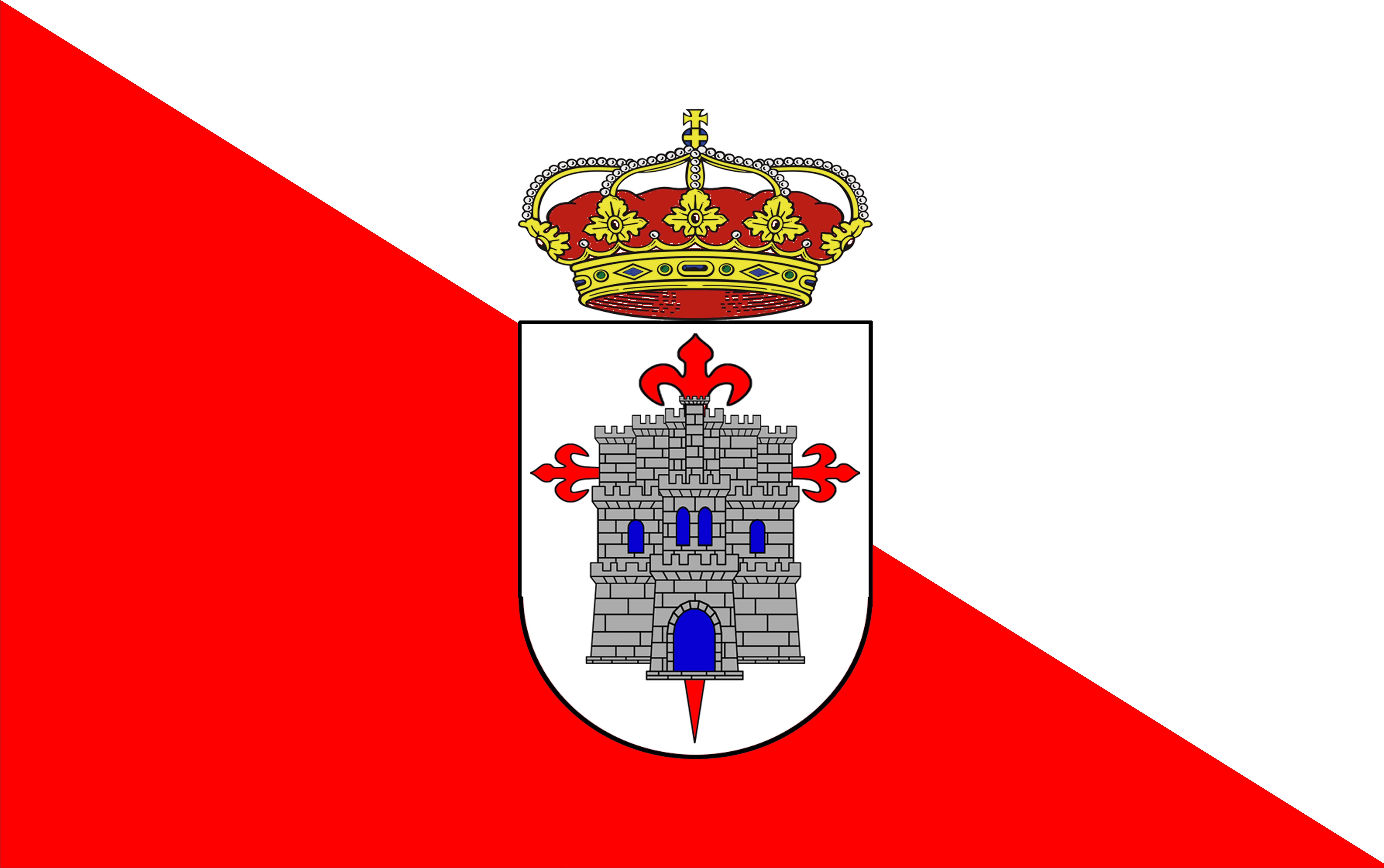 Gambar Eropah Simbol Spanduk Bendera Kastil Lambang Label
