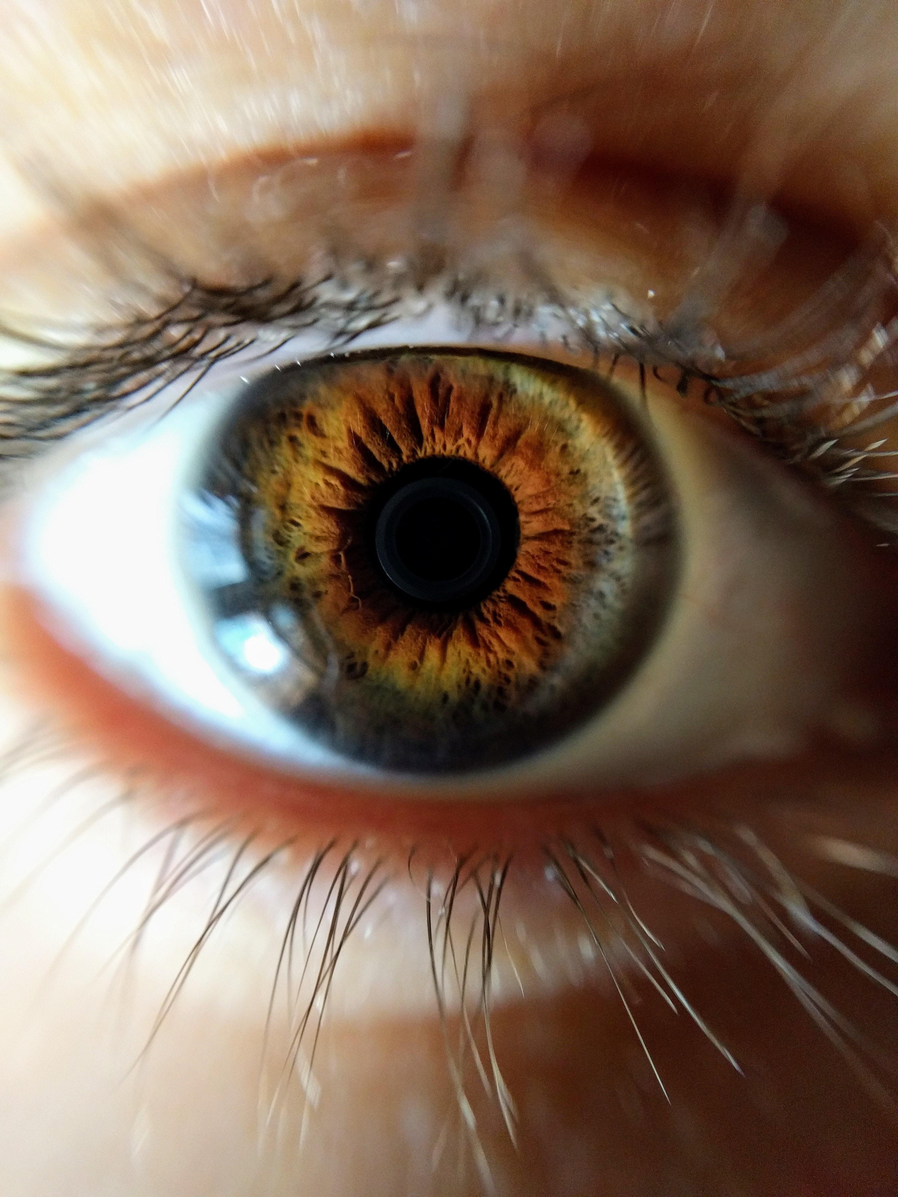 Что будет если фотографировать глаз