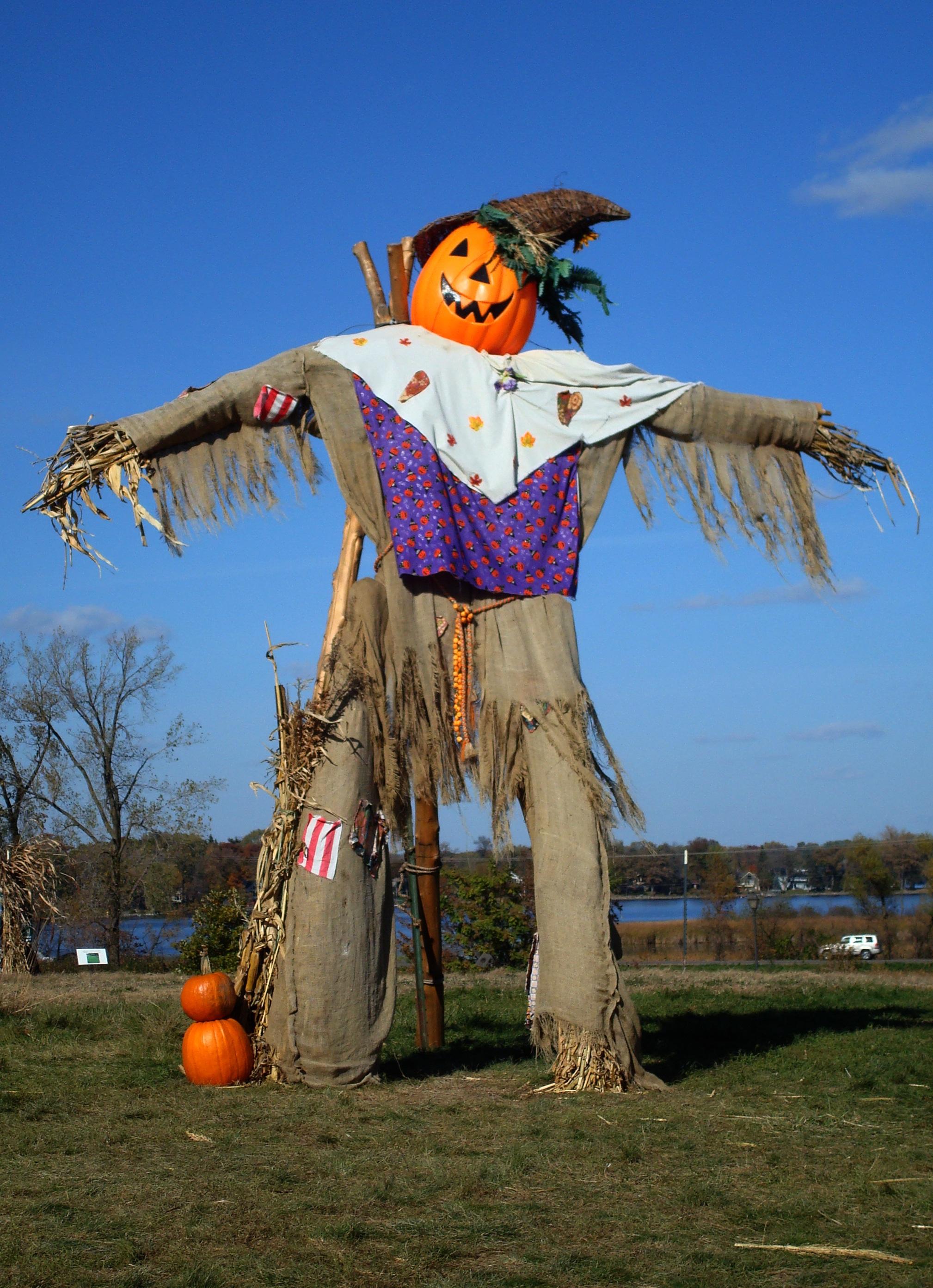 free images fall statue harvest autumn pumpkin halloween