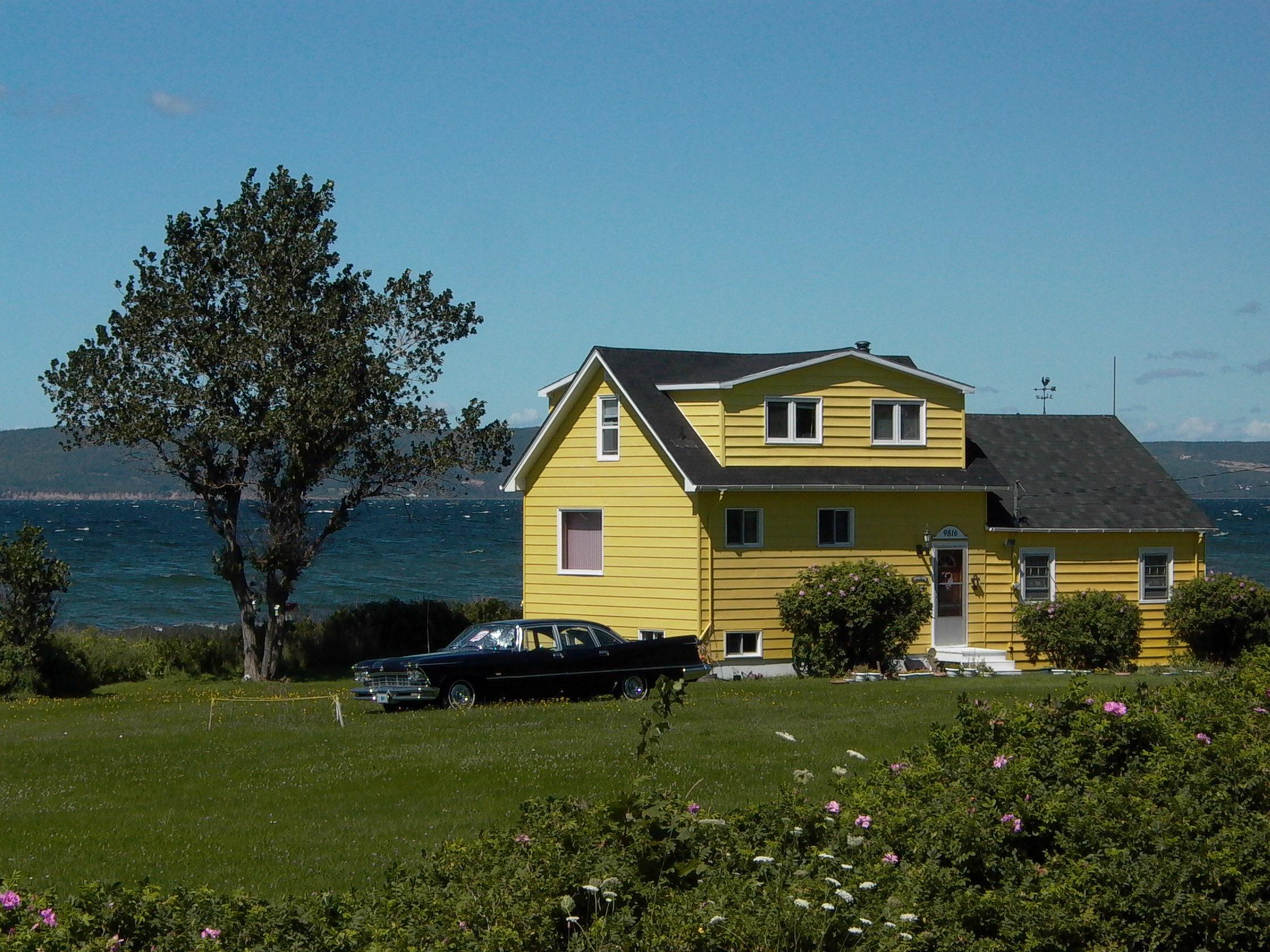 Free images farm villa house lake building suburb for Dream house builder online free