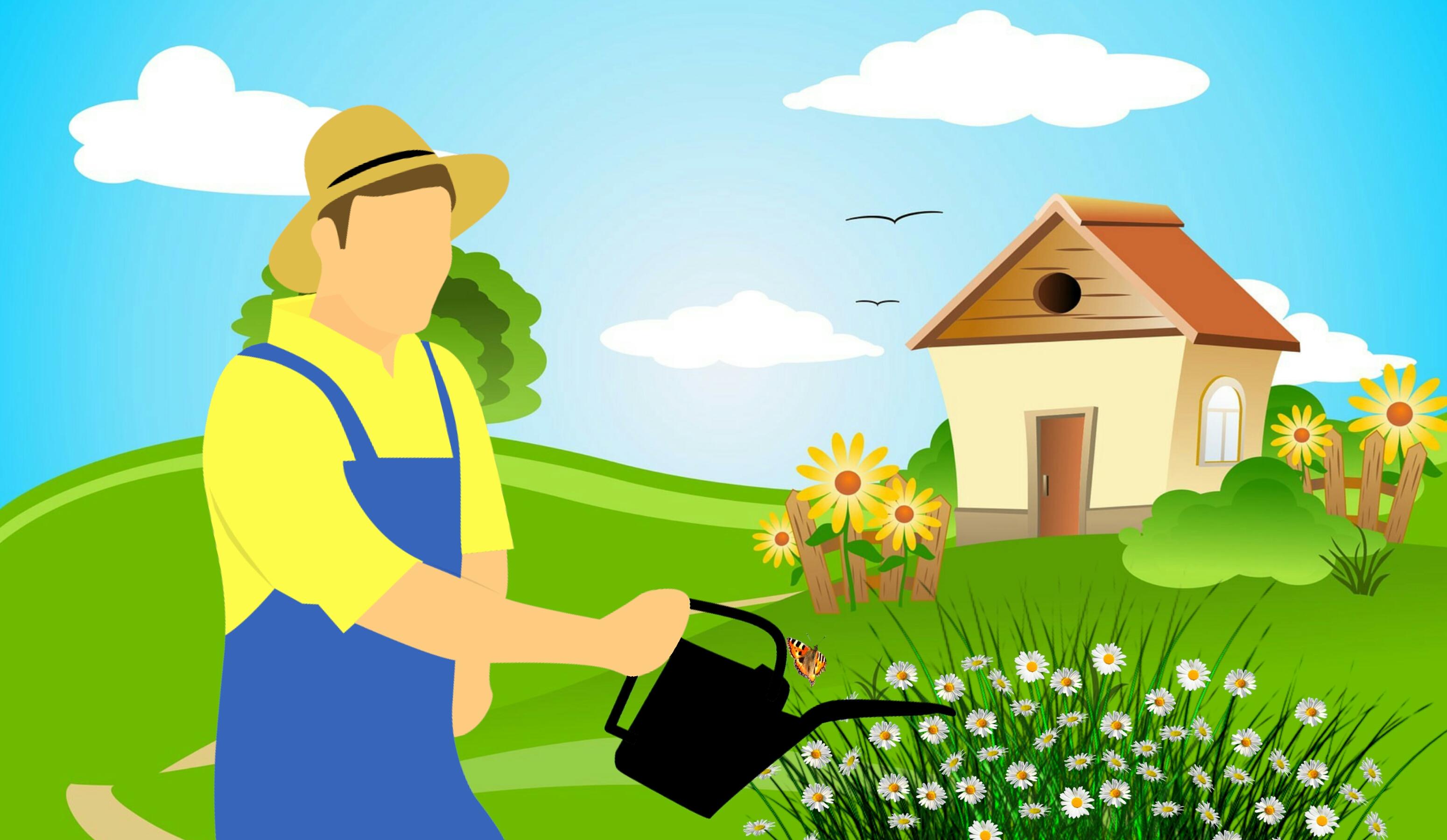 Images Gratuites Agriculteur Equipement Jardin Jardinage