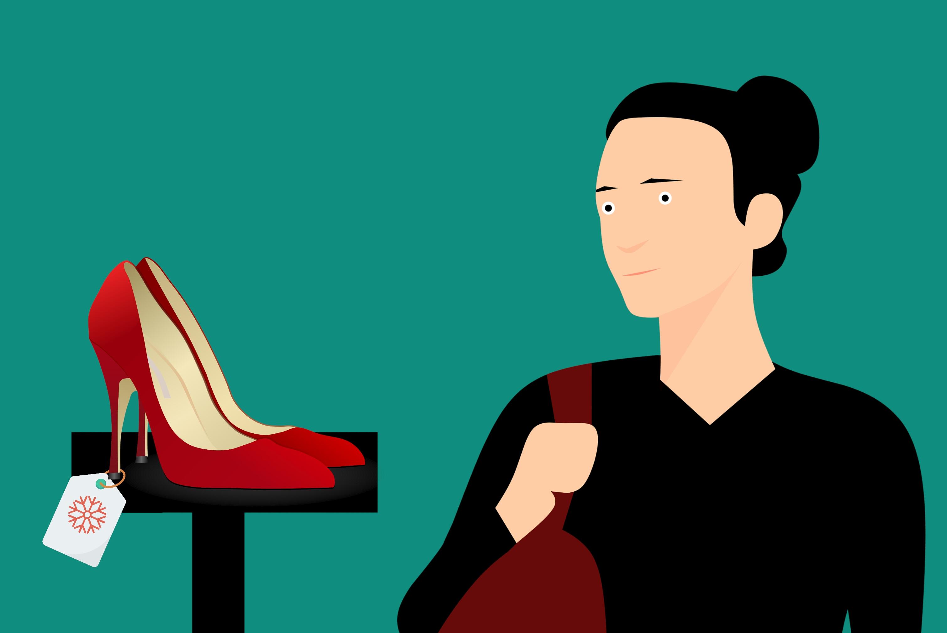 Free Images Fashion Footwear Girl Shoe Shop Shopping Store