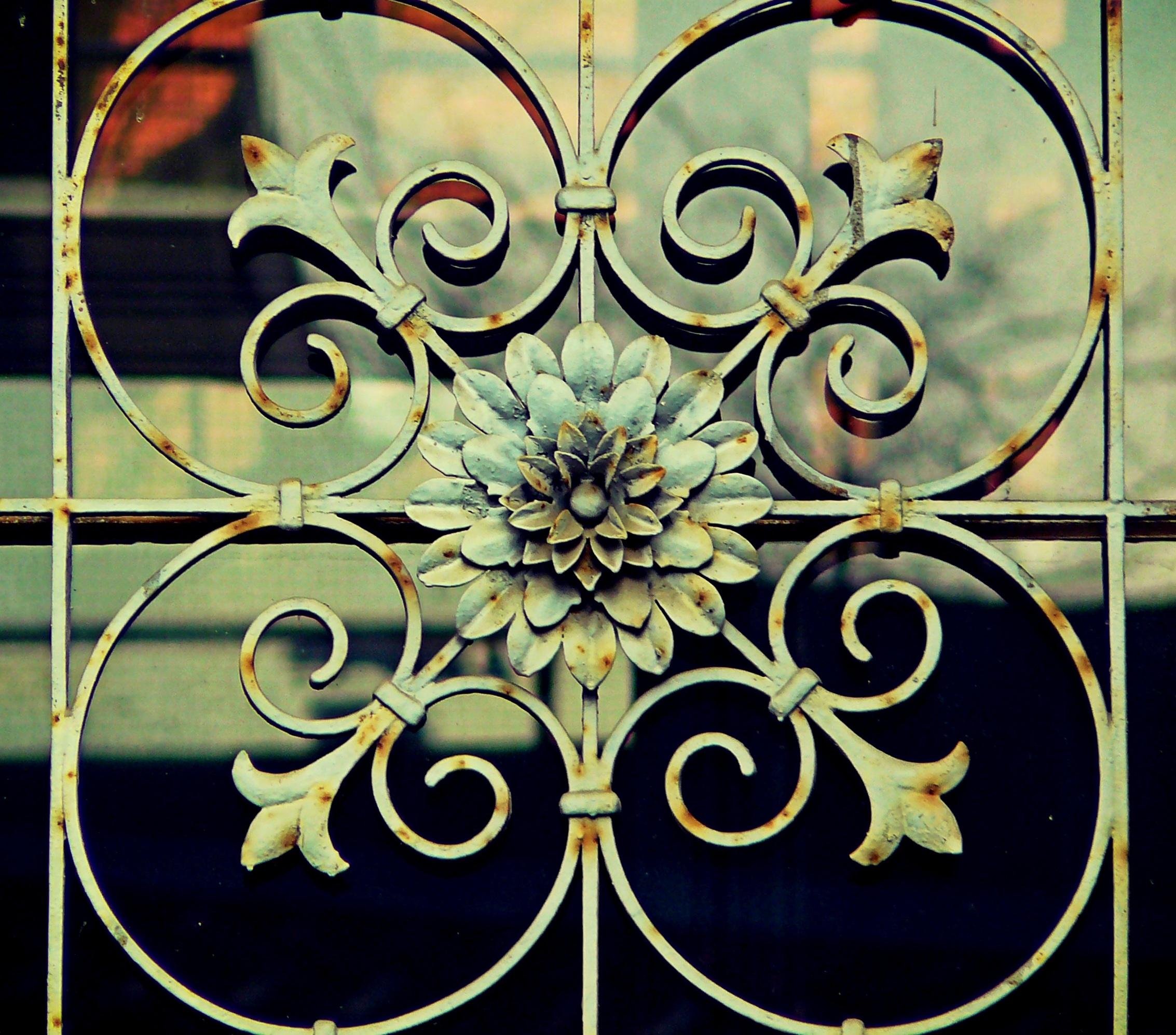 fence-architecture-antique-window-glass-