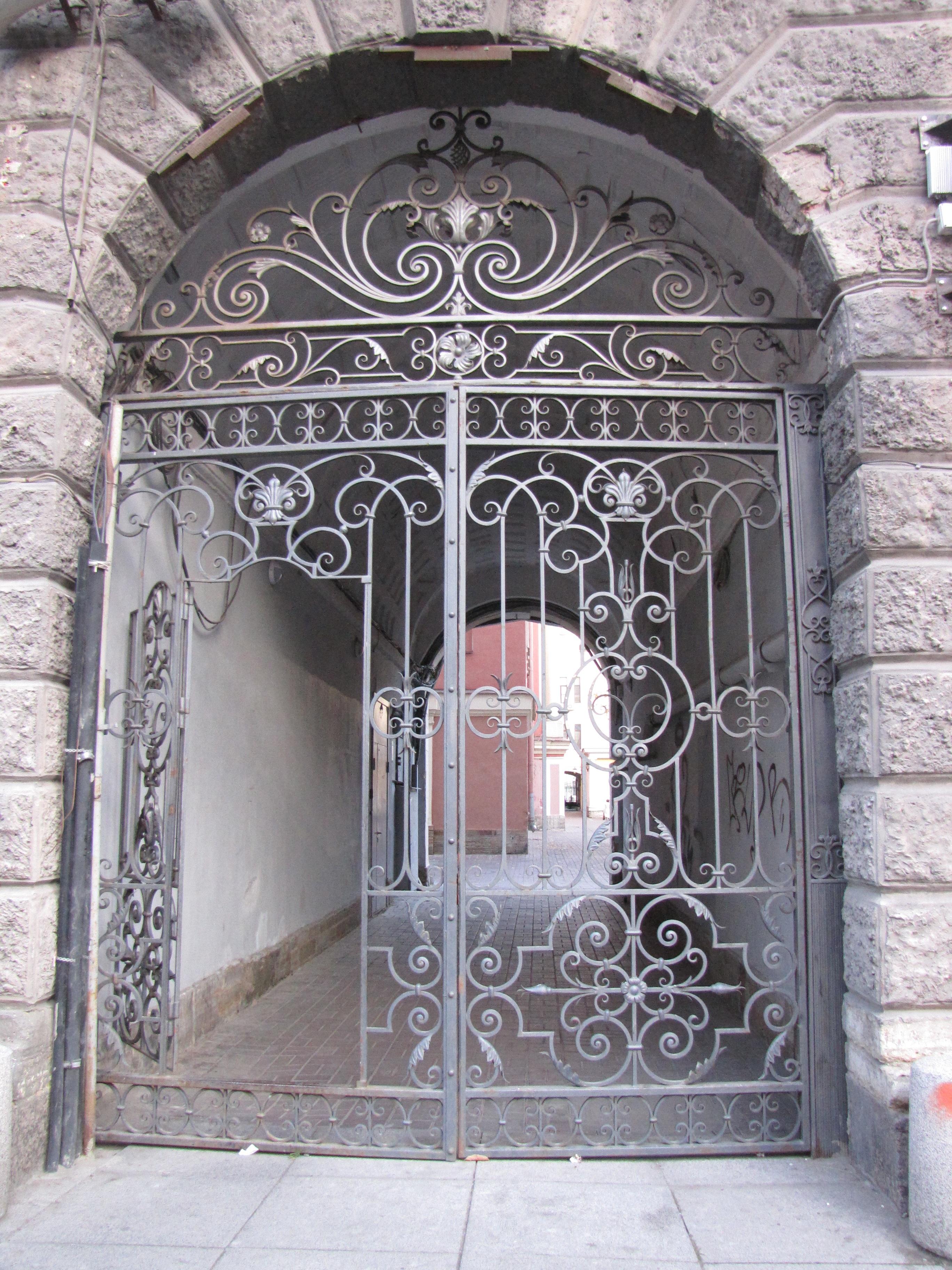 Fotos Gratis Cerca Edificio Antiguo Monumento Arco Fachada  ~ Puertas Hierro Exterior Fachadas