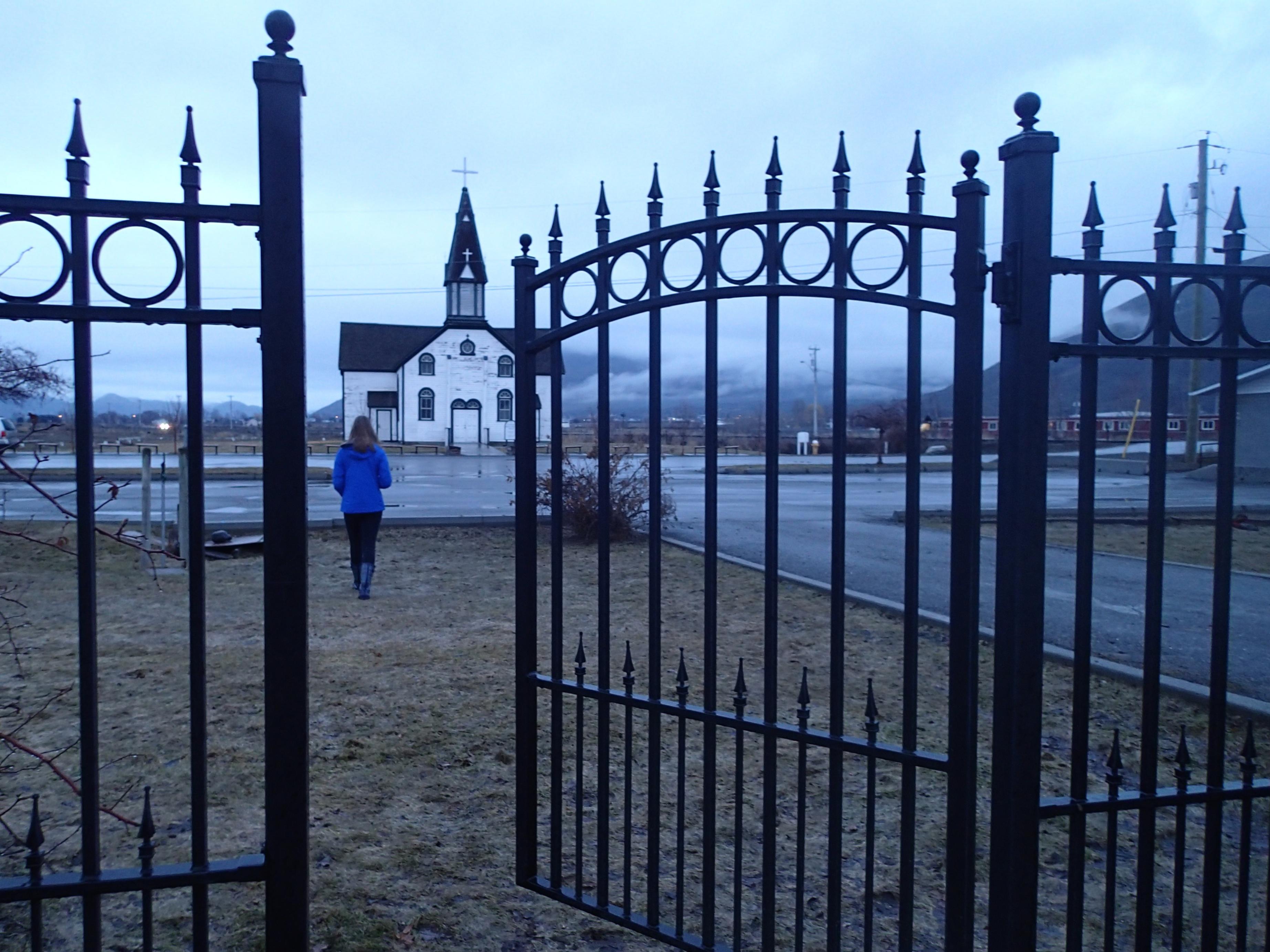Kostenlose foto Zaun blau Tor Eisen Nichtbau Struktur