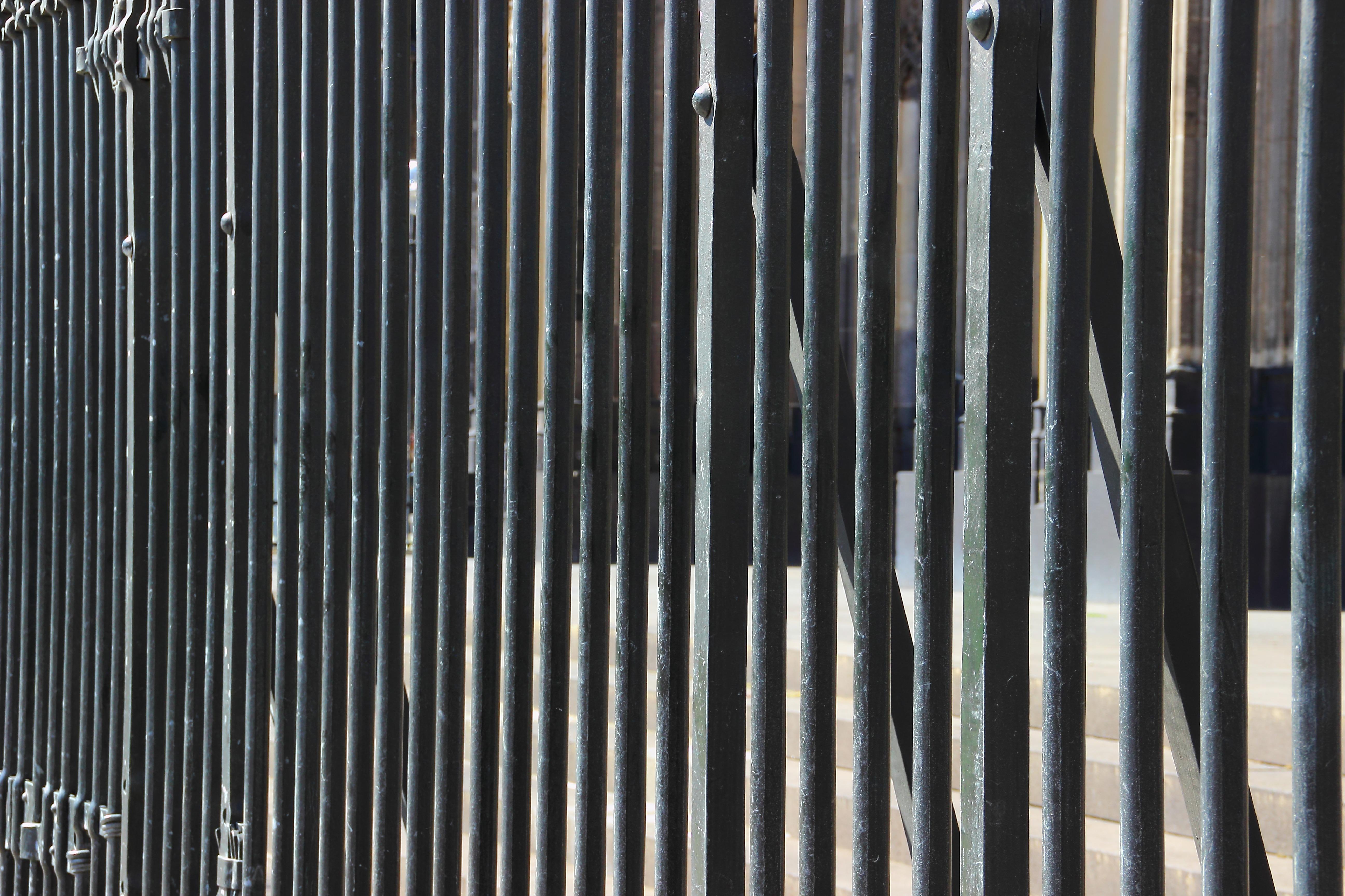 Fotos gratis : cerca, estructura, madera, textura, línea, metal ...