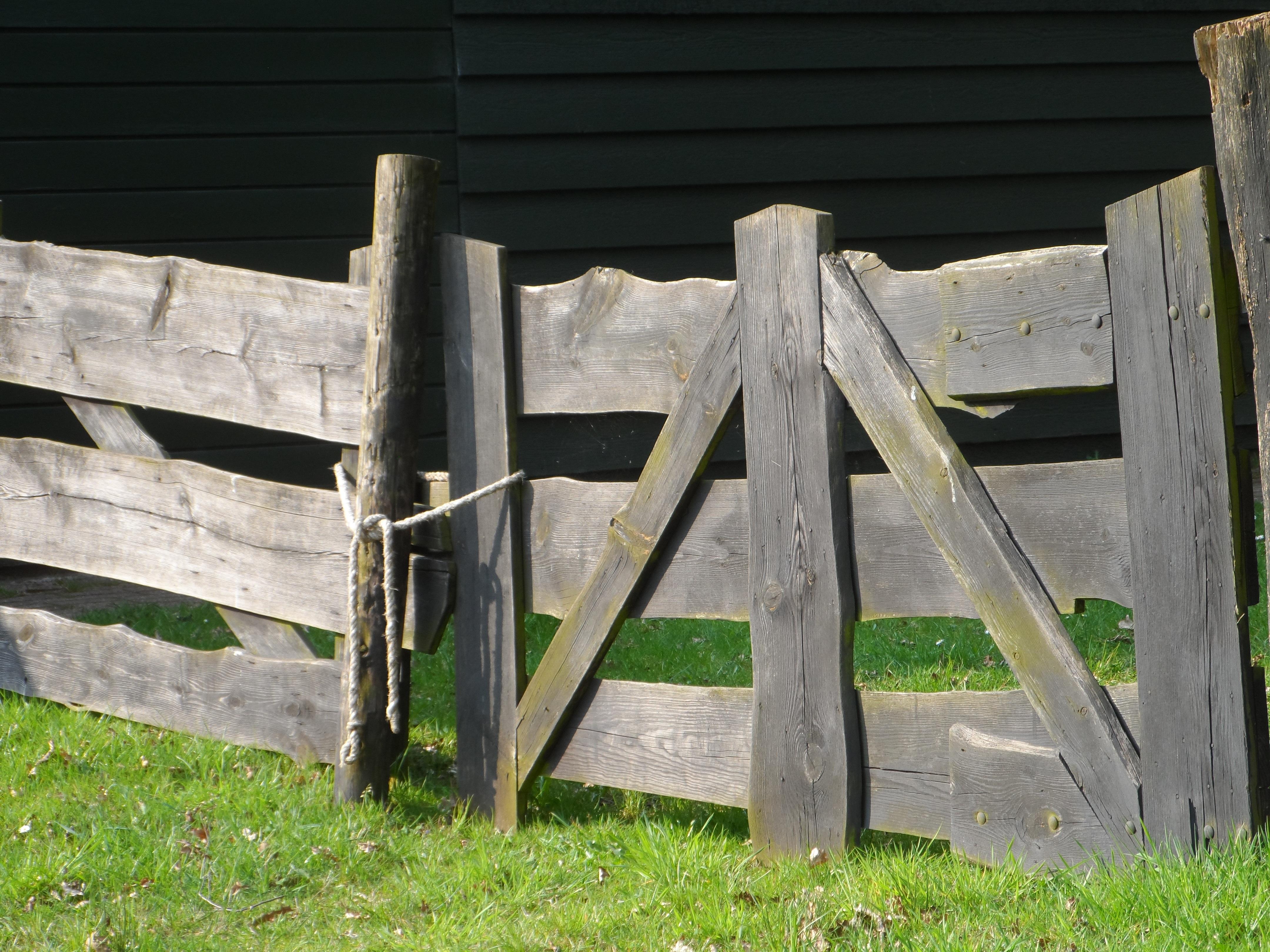 Wooden fences, fences: photos of original structures 84