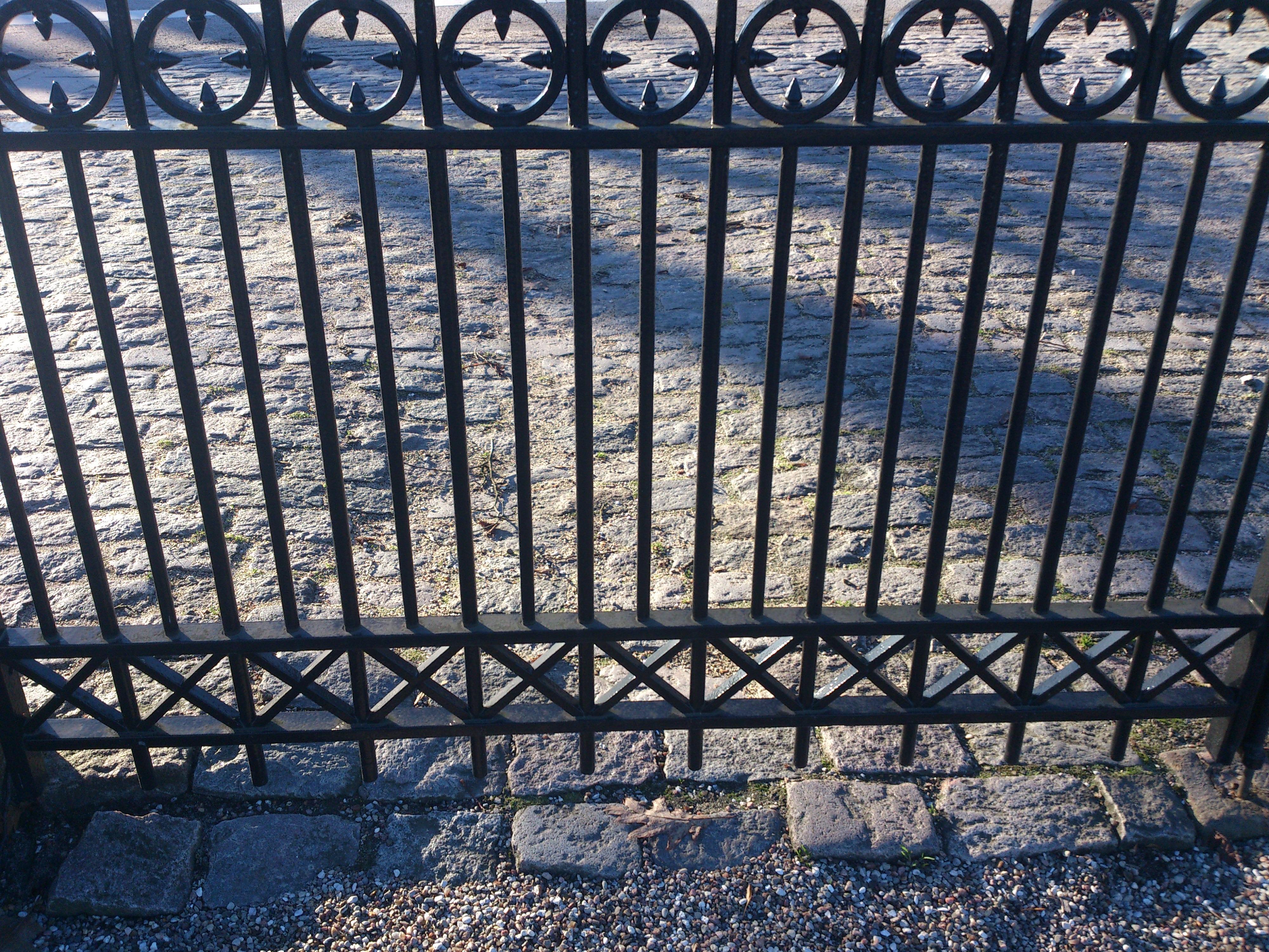 Kostenlose foto Zaun Textur alt Kopfstein Muster Linie
