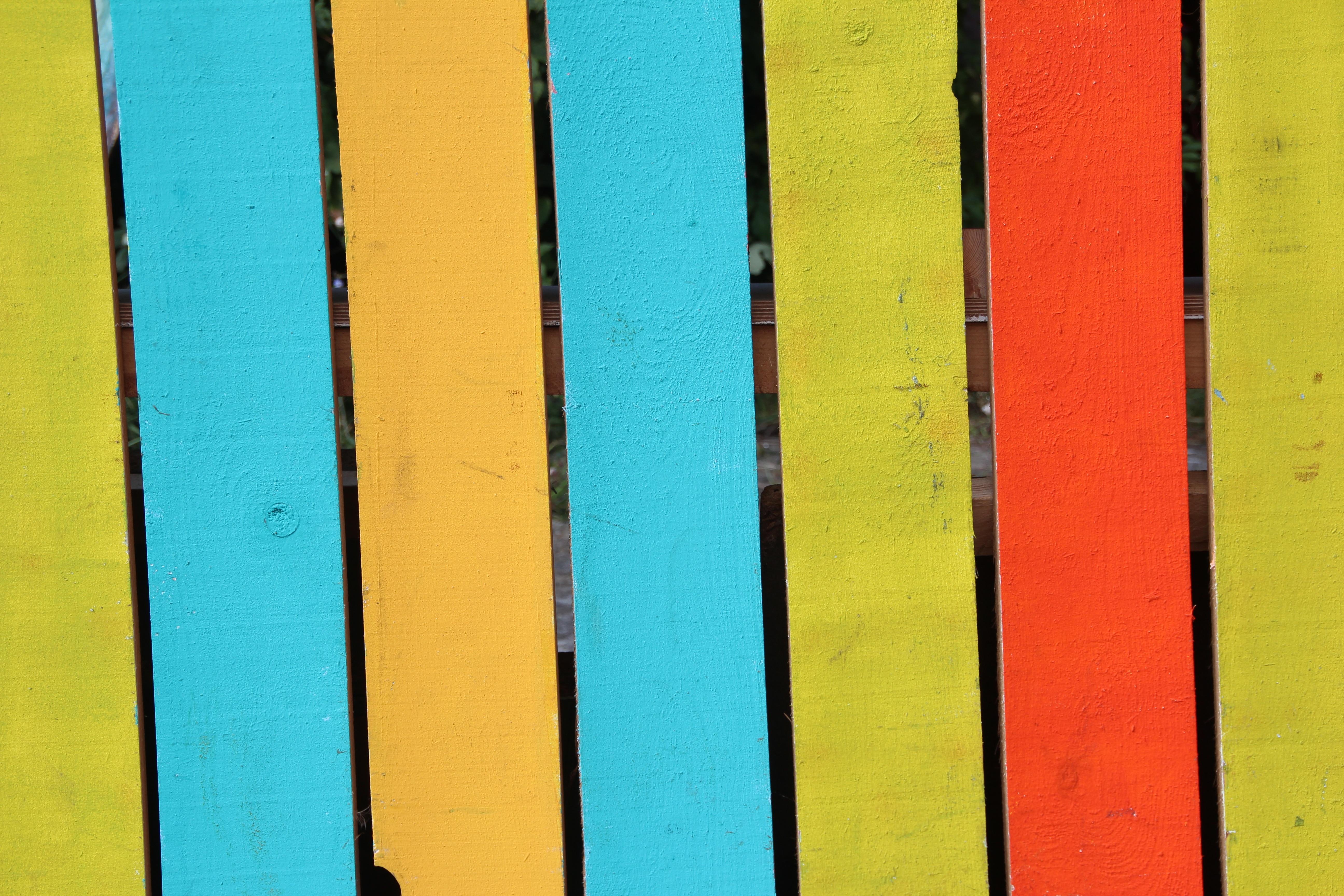 Gambar Pagar Tekstur Dinding Pola Garis Hijau Merah Warna