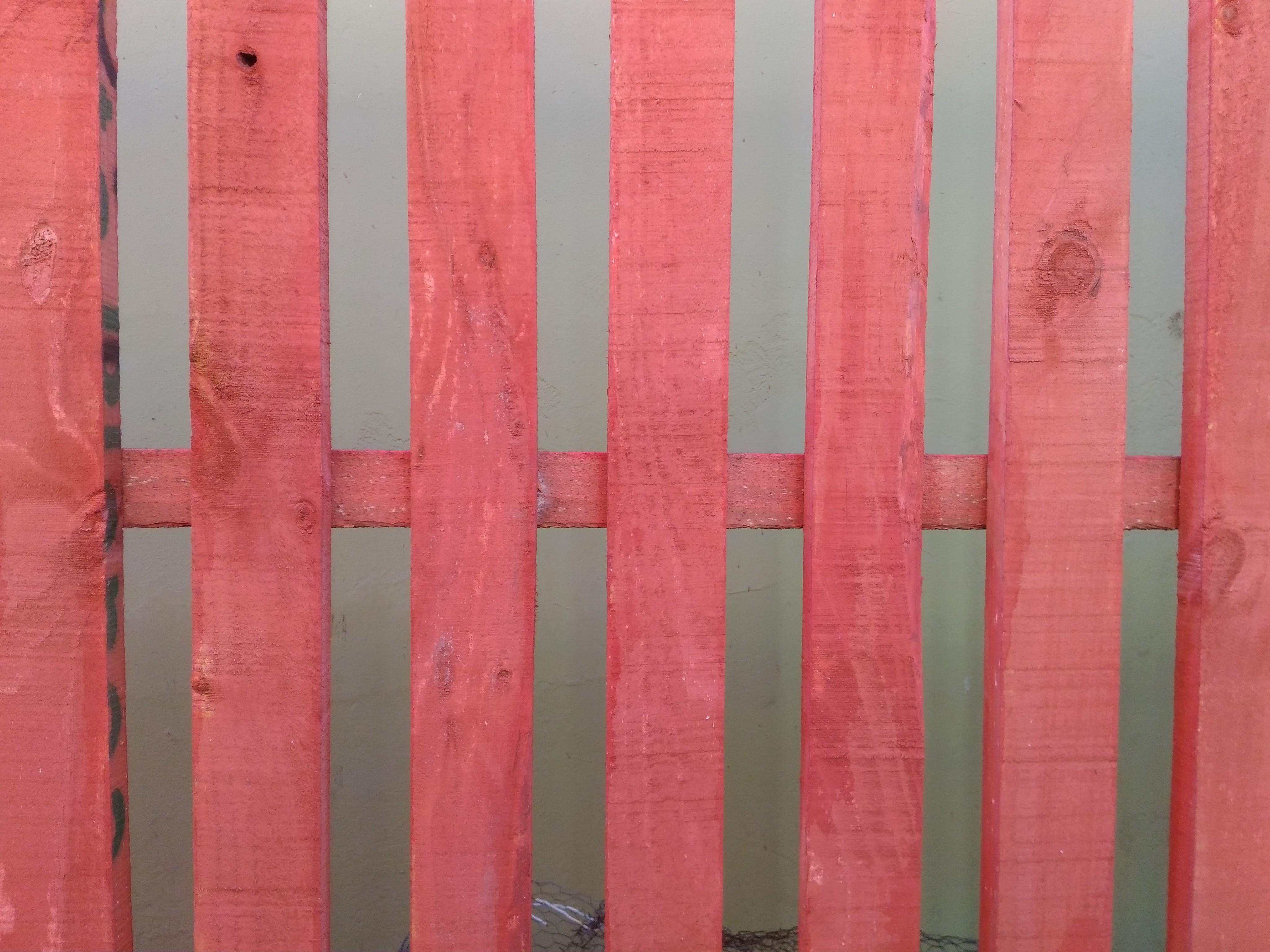 Kostenlose Foto Zaun Mauer Holz Rot Rosa Holzbeize Linie