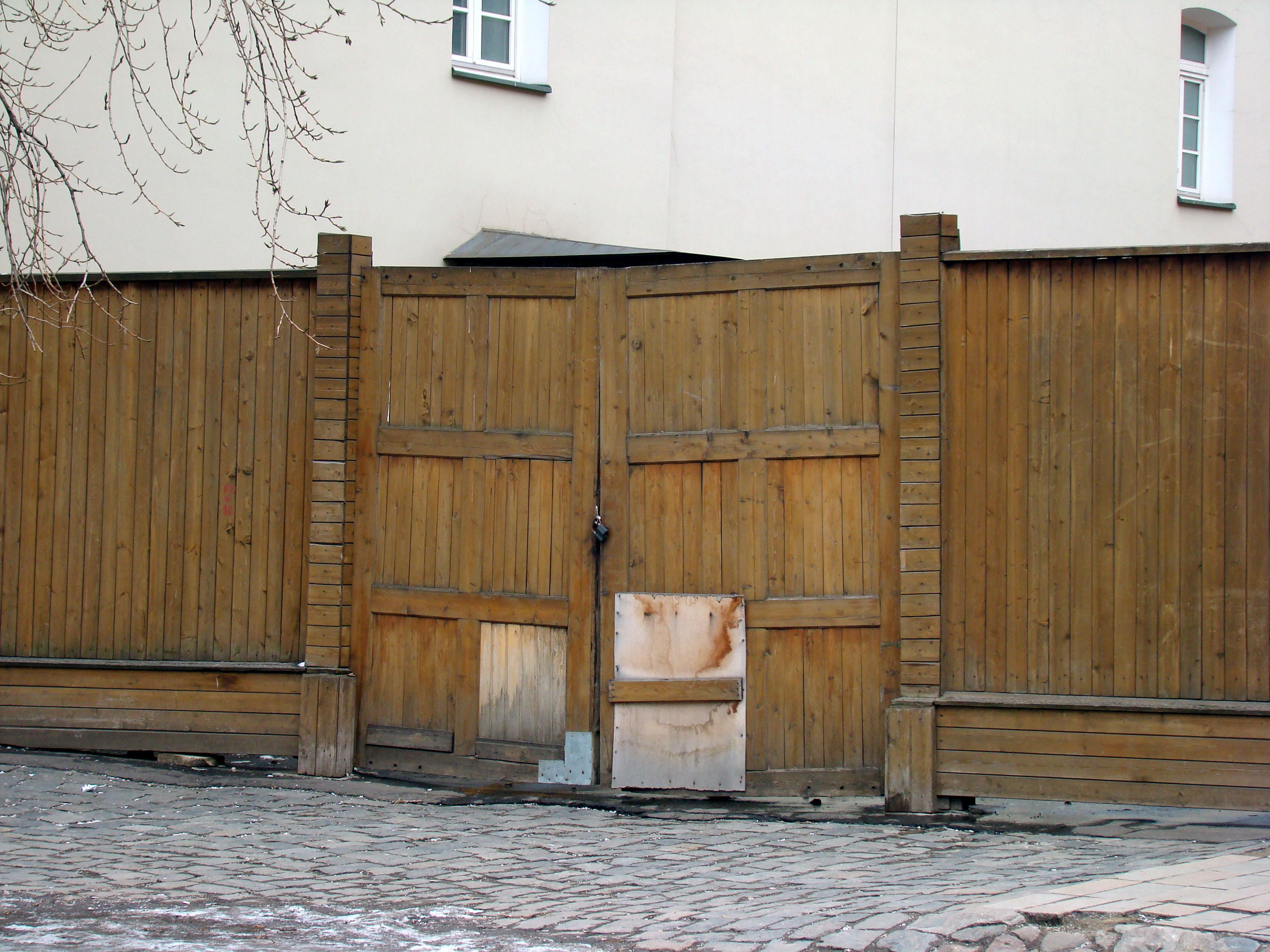 Kostenlose Foto Zaun Holz Stock Stadt Mauer Schuppen