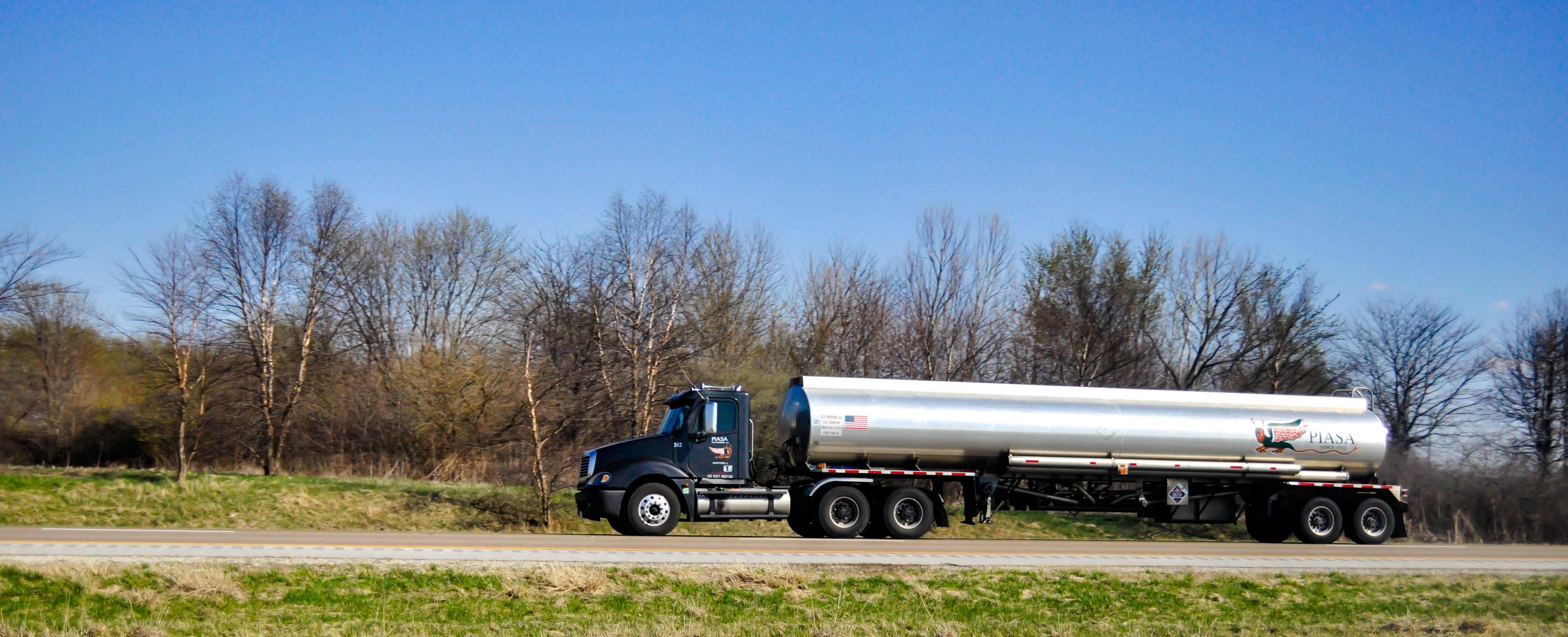 Free Images : field, farm, tanker, asphalt, transport ...