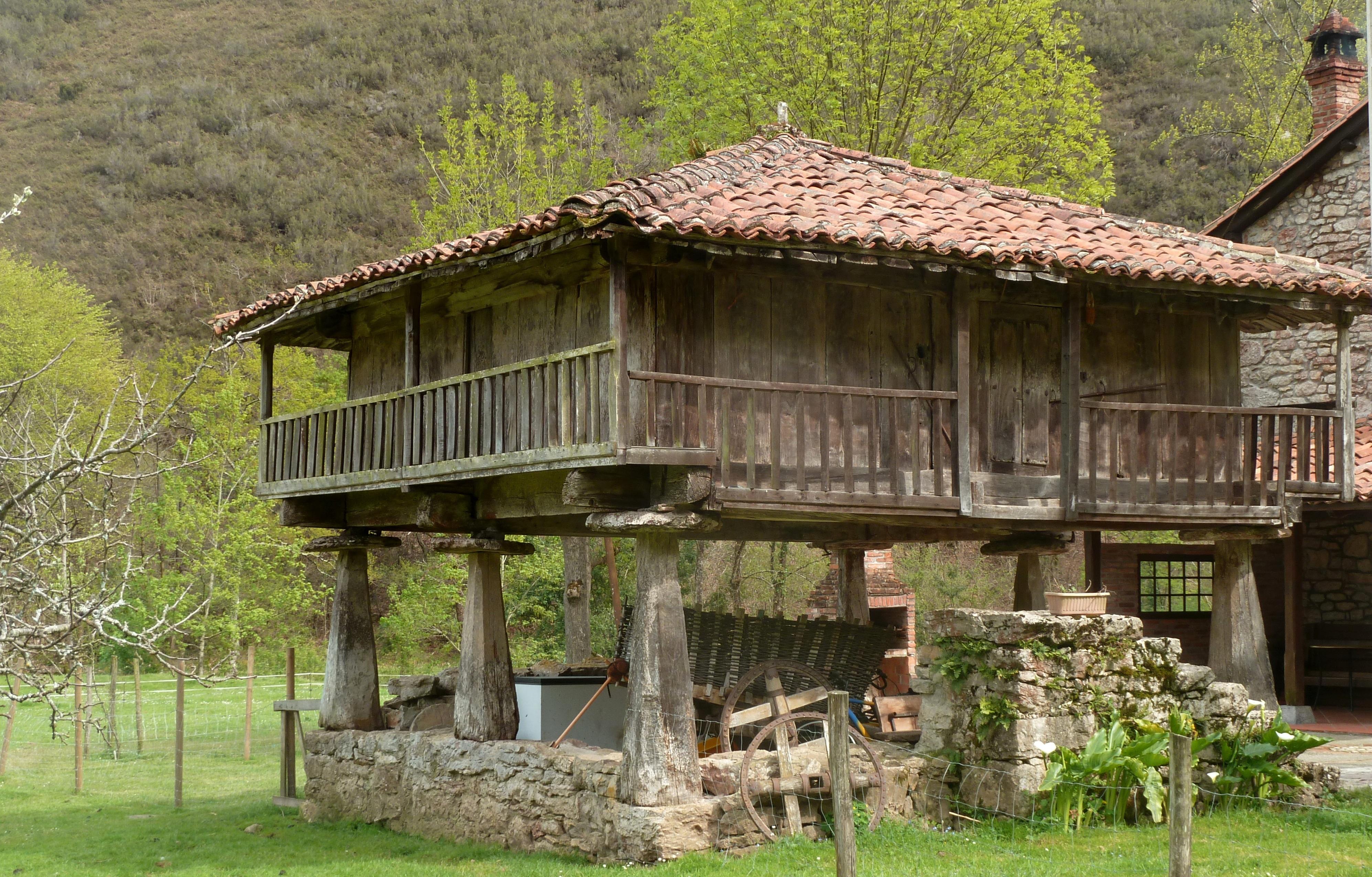 Fotos gratis campo casa edificio choza pueblo - Casas gratis en pueblos de espana ...