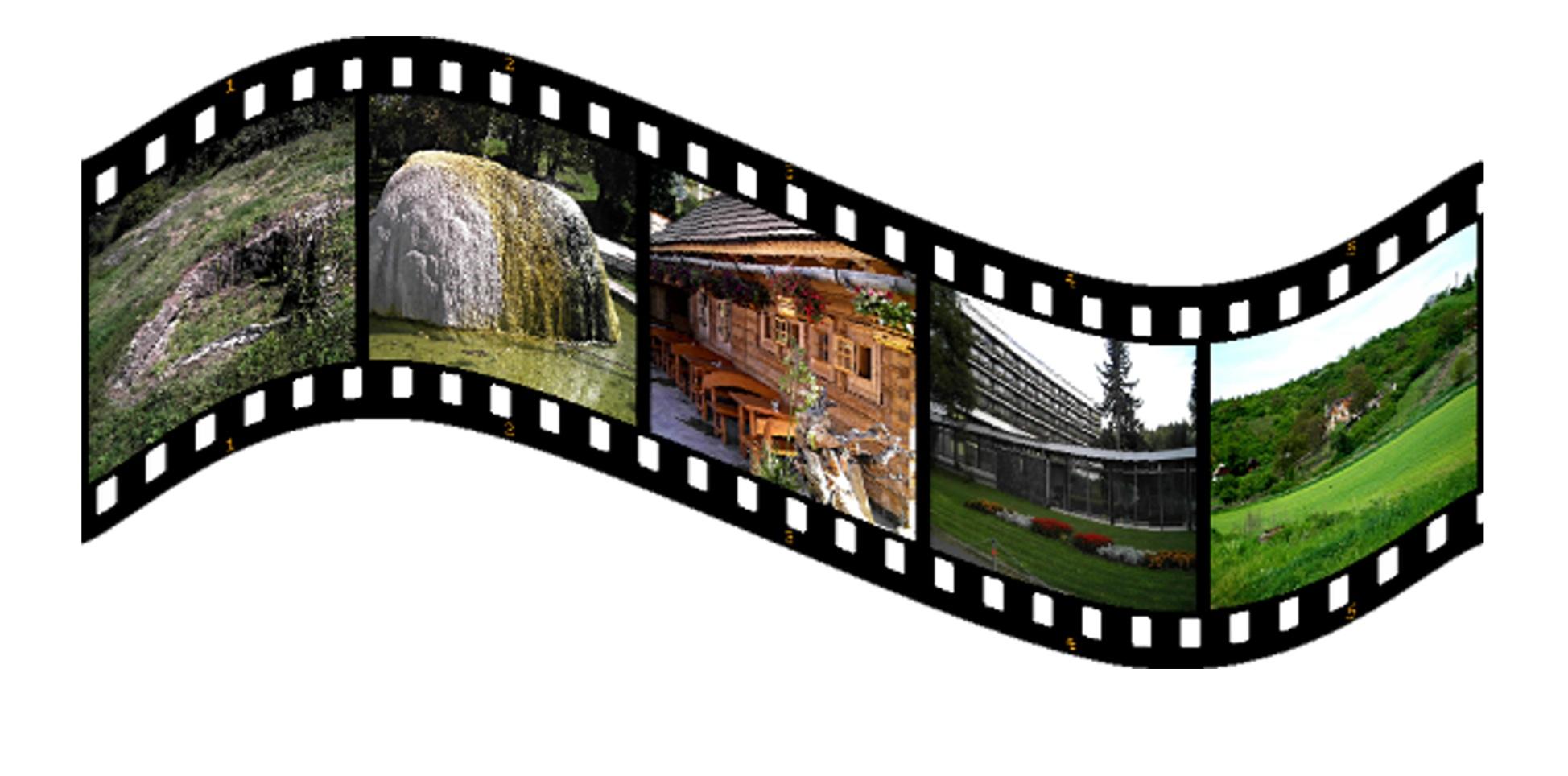 Gambar Film Spanduk Merek Produk Ilustrasi Gambar Kartun