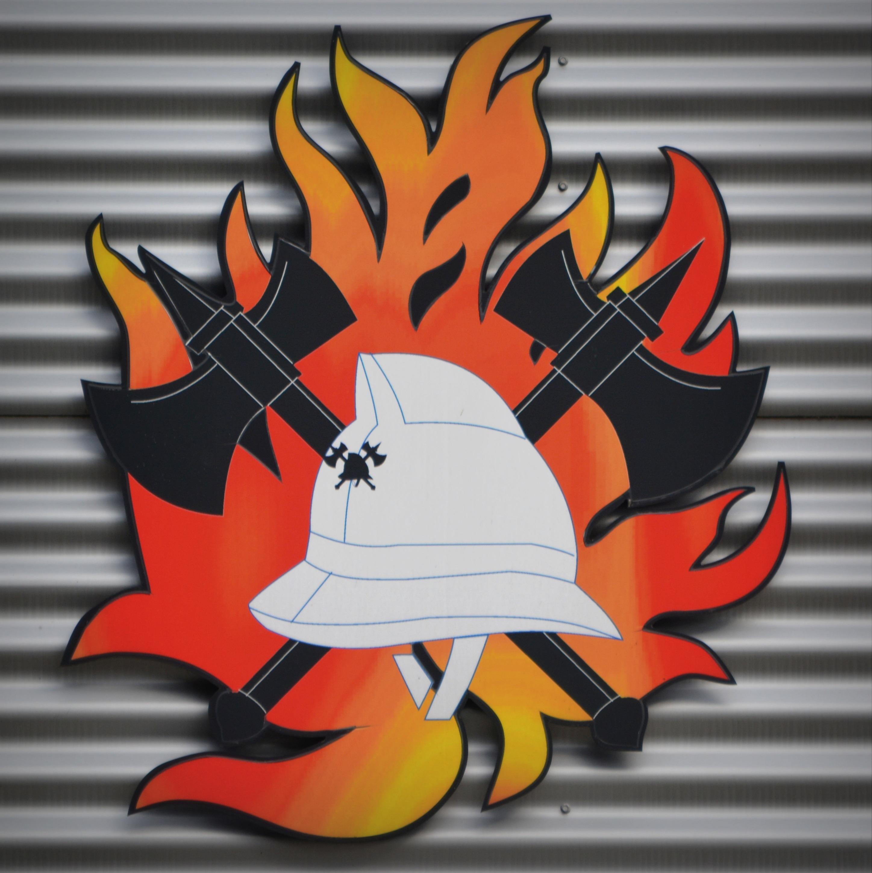 Gambar Api Seni Pemadam Kebakaran Ilustrasi Ketopong Gambar