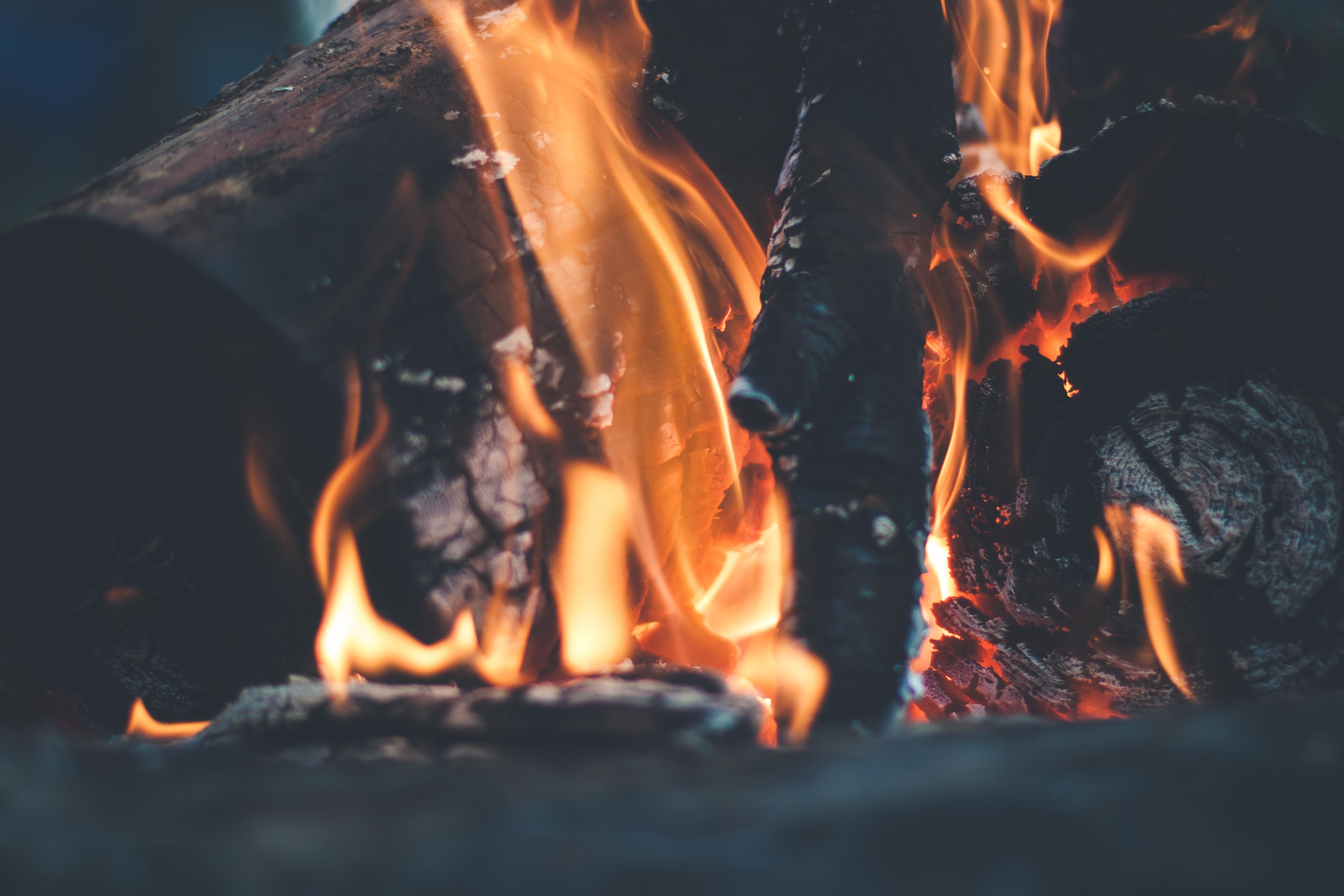 Спокойствие умиротворение огонь костер  № 3560296  скачать