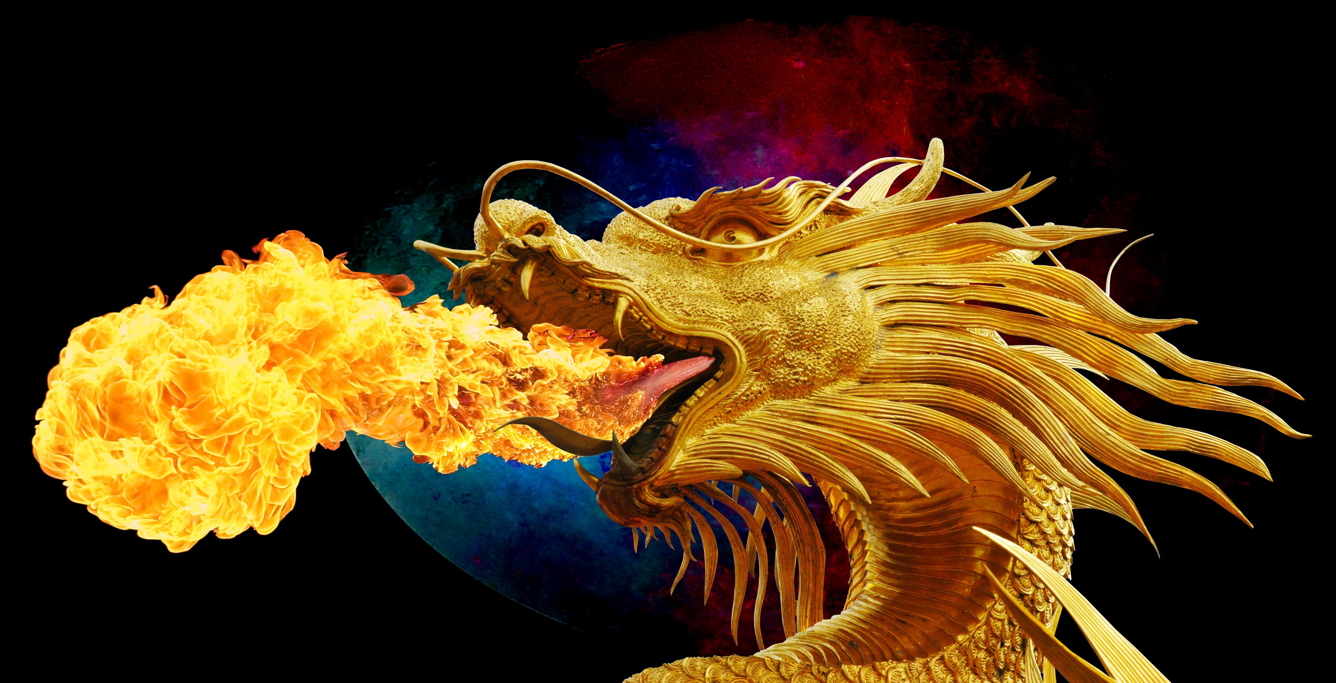 кислого картинки огня из пасти дракона легче