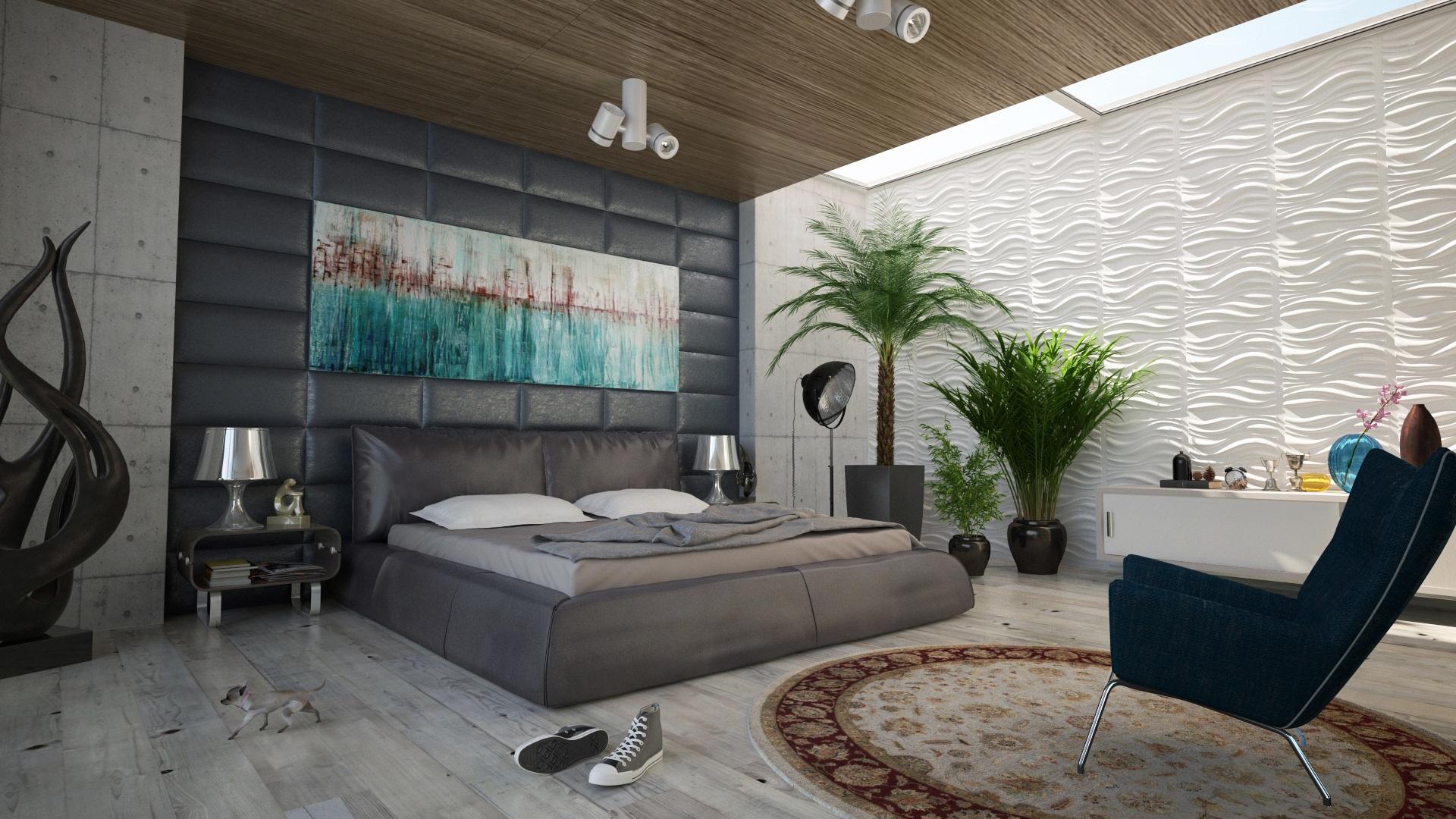 Gambar Lantai Rumah Dinding Dekorasi Loteng Milik Ruang