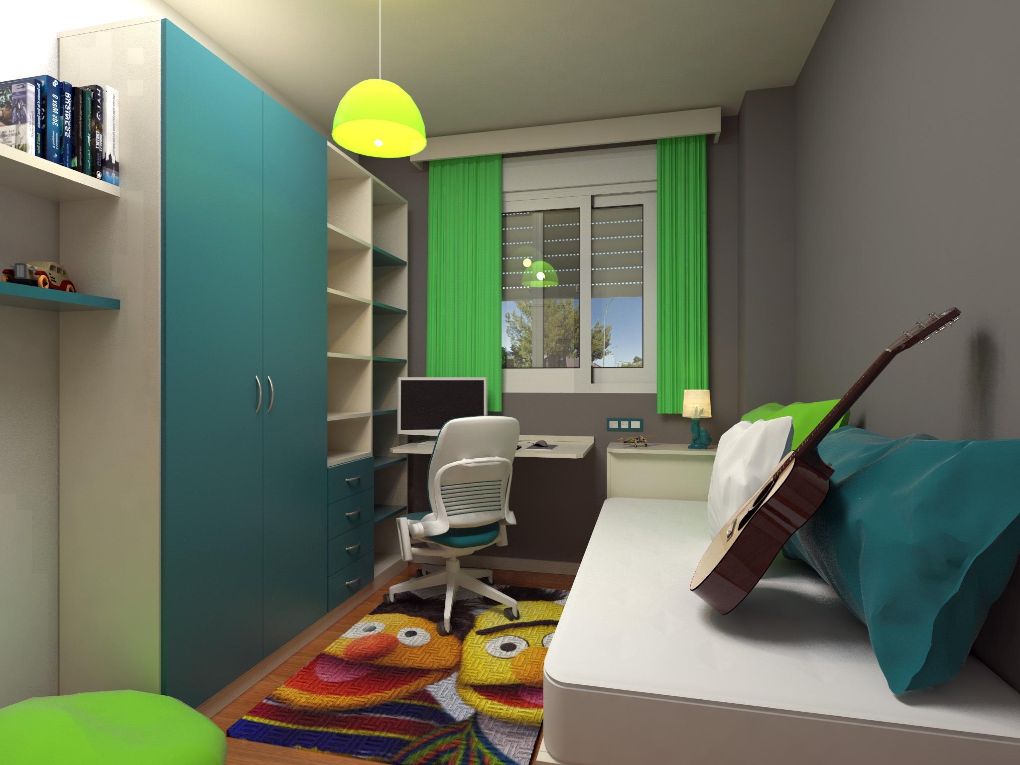 Gambar Lantai Pemuda Warna Kantor Ruang Keluarga Kamar Tidur