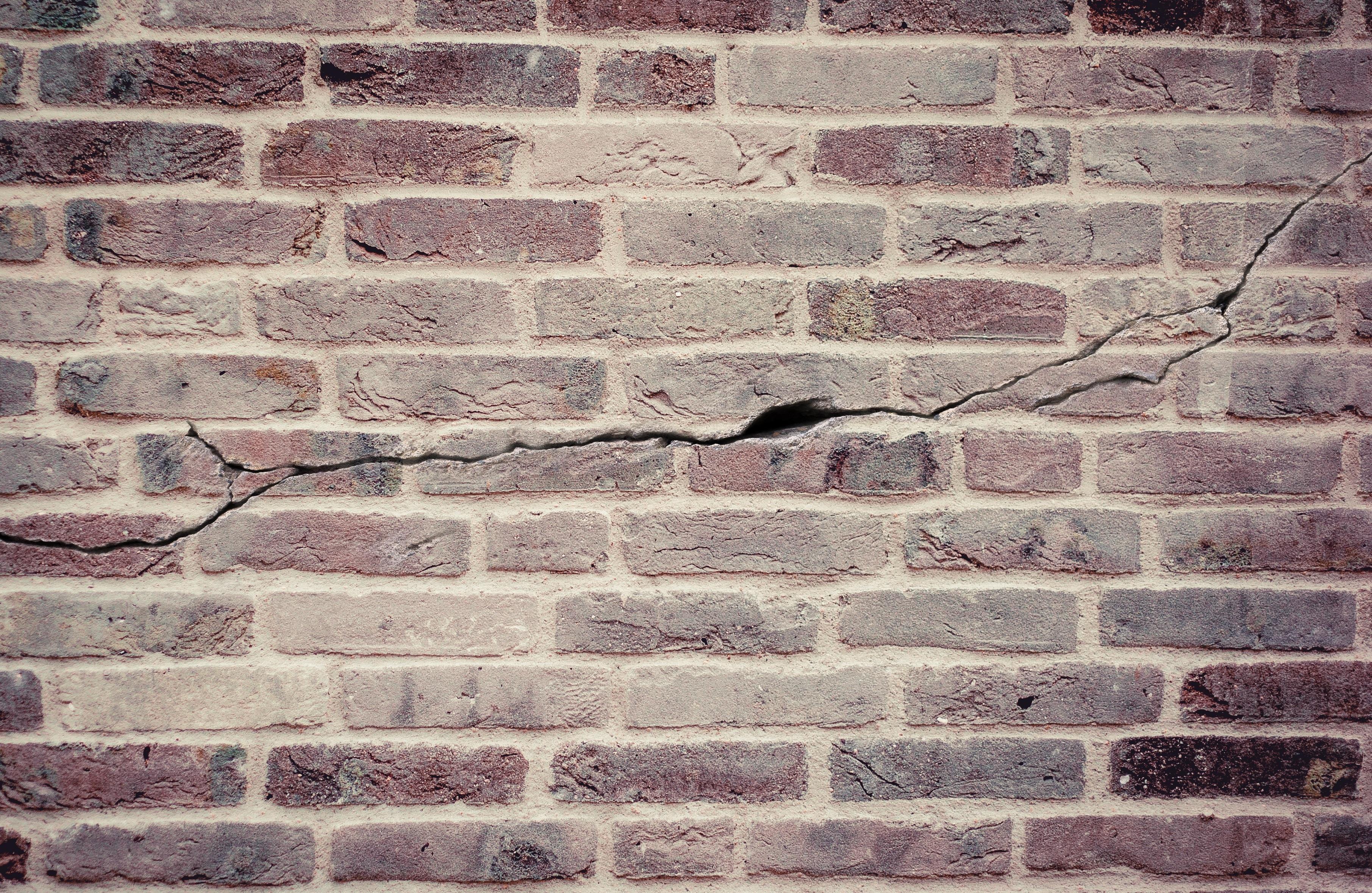 Free Images  floor, broken, crack, facade, stone wall, material, stones, bri