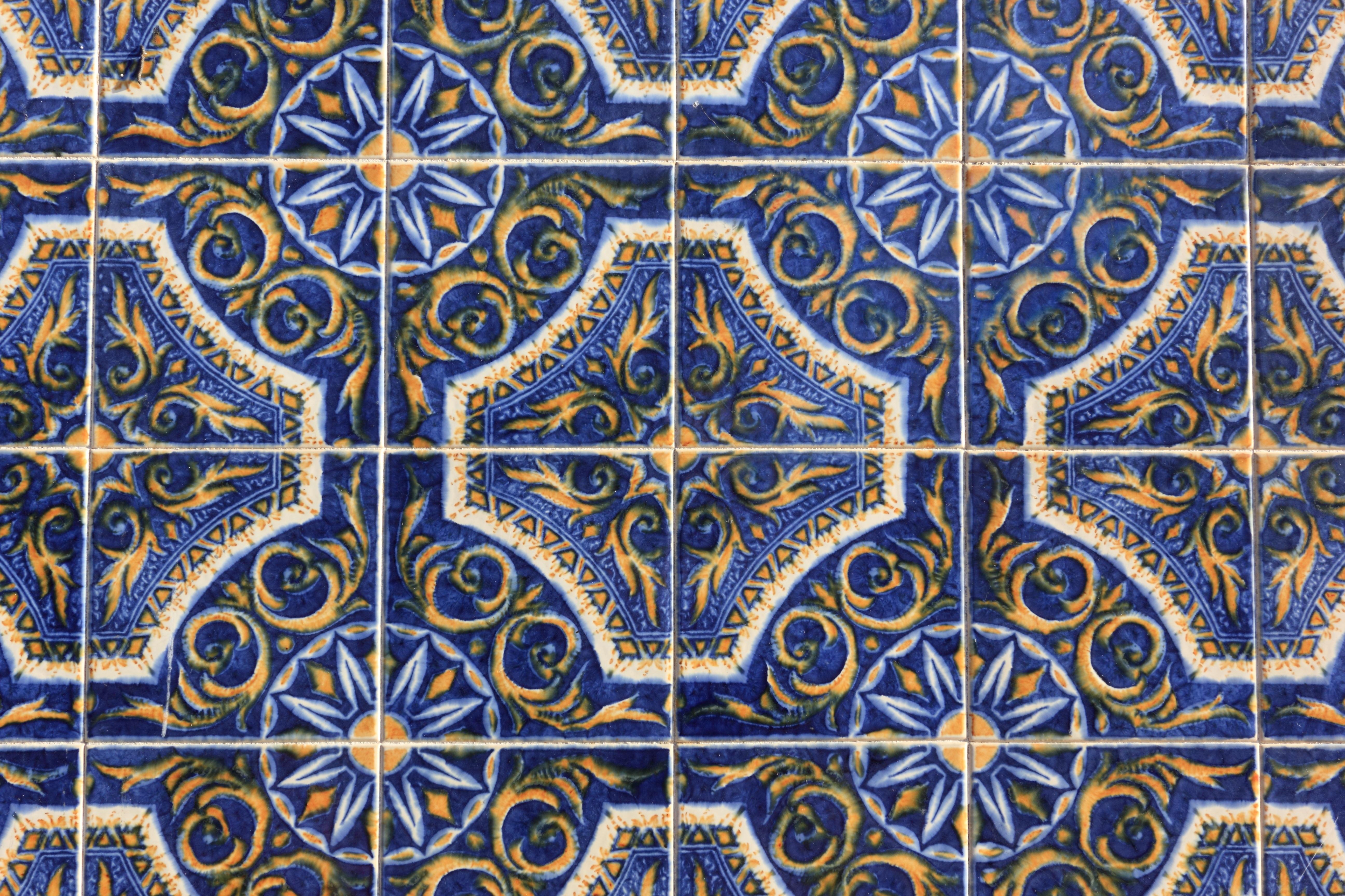 Free Images : floor, wall, pattern, ceramic, circle, art, design ...