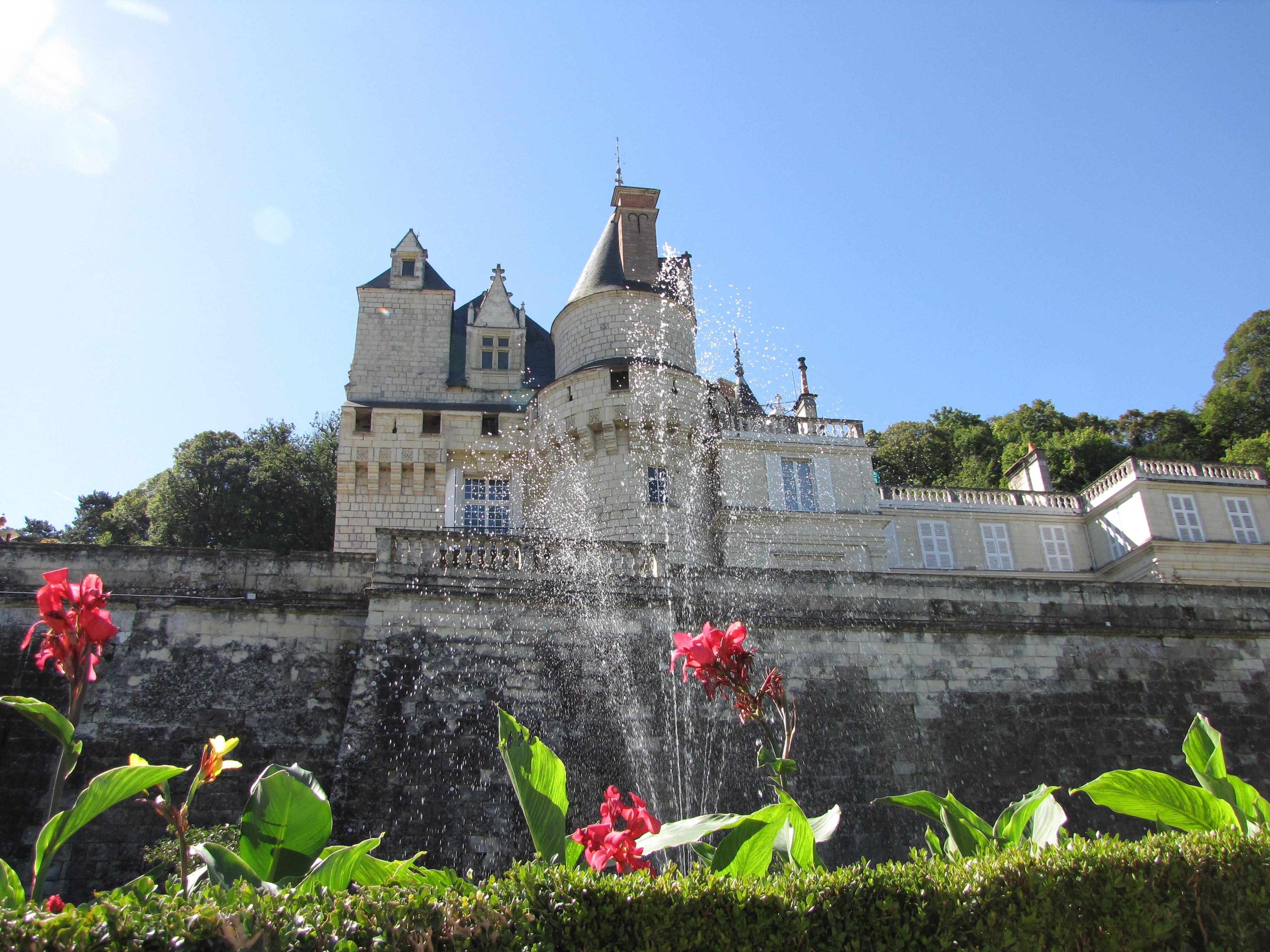 Images gratuites fleur b timent ch teau france ch teau jardin tourisme vall e de la - Jardin de la vallee ...