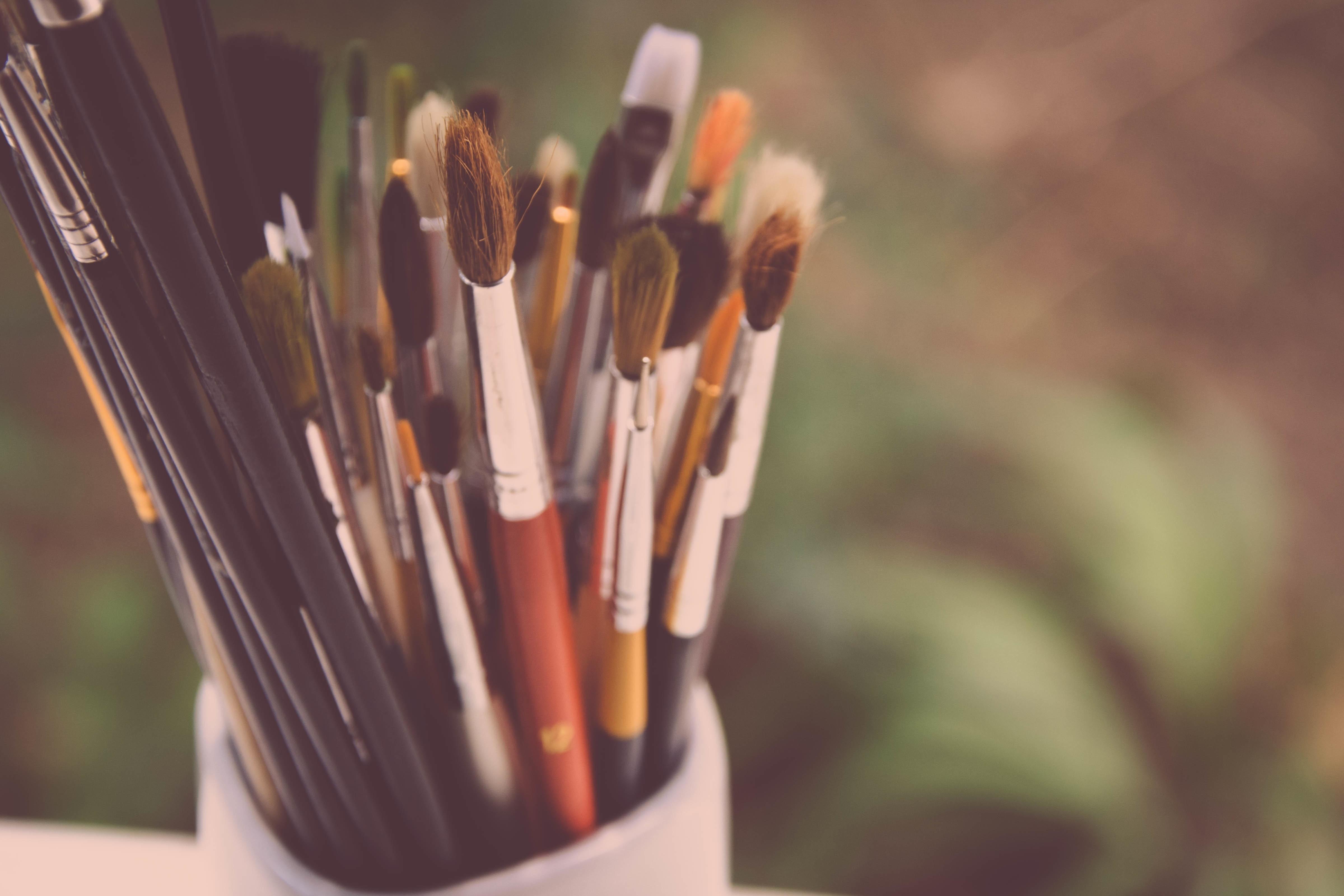 Free Images : flower, color, artistic, artist, paintbrush ...