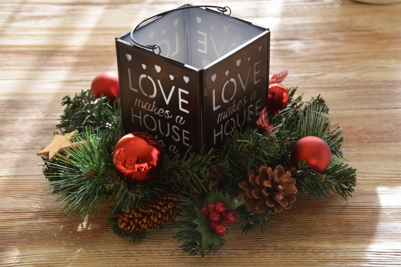 Ideas De Centro De Mesa Para Navidad