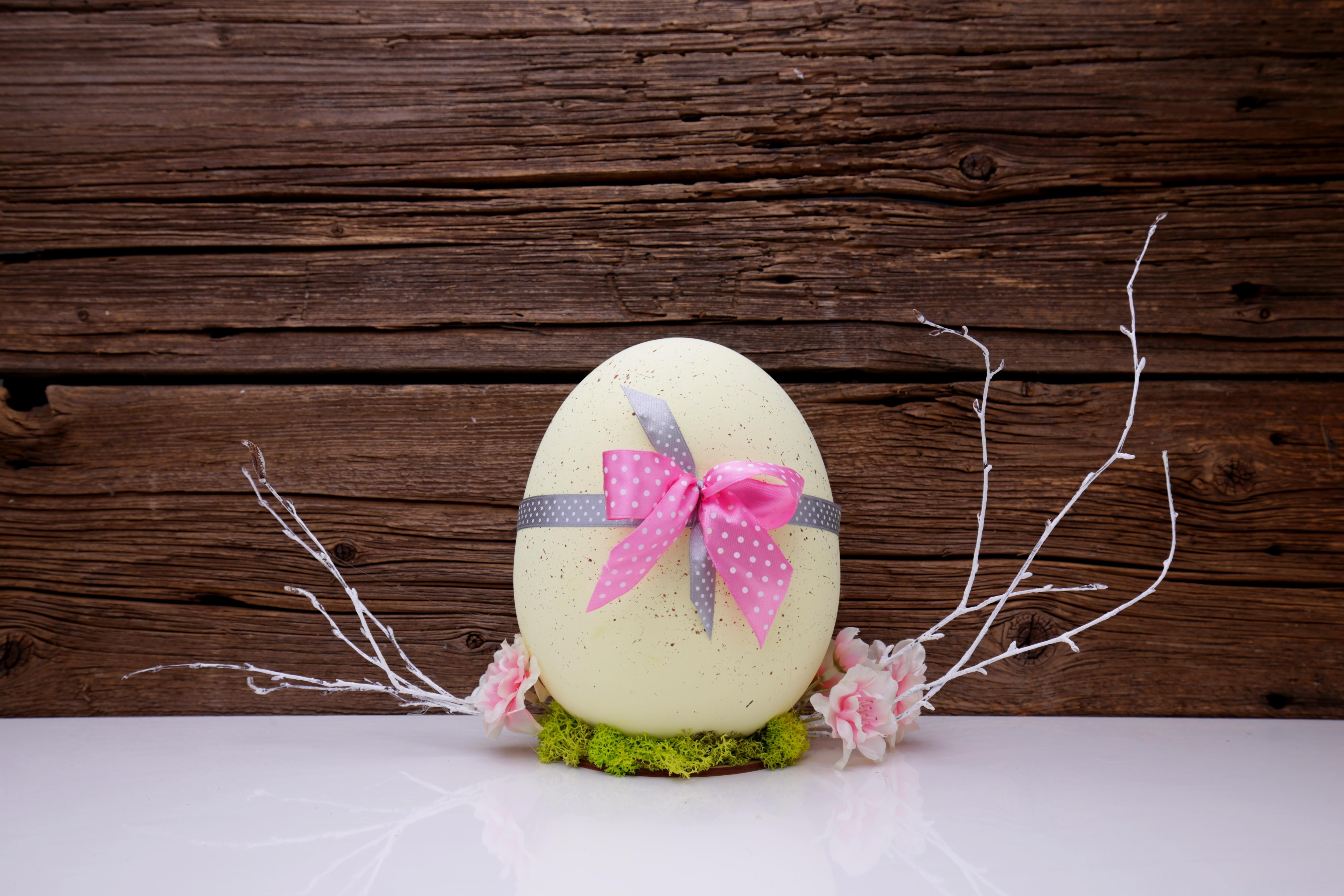 Flower Decoration Food Spring Pink Lighting Egg Painting Christmas  Decoration Art Holidays Eggs Easter Custom Easter