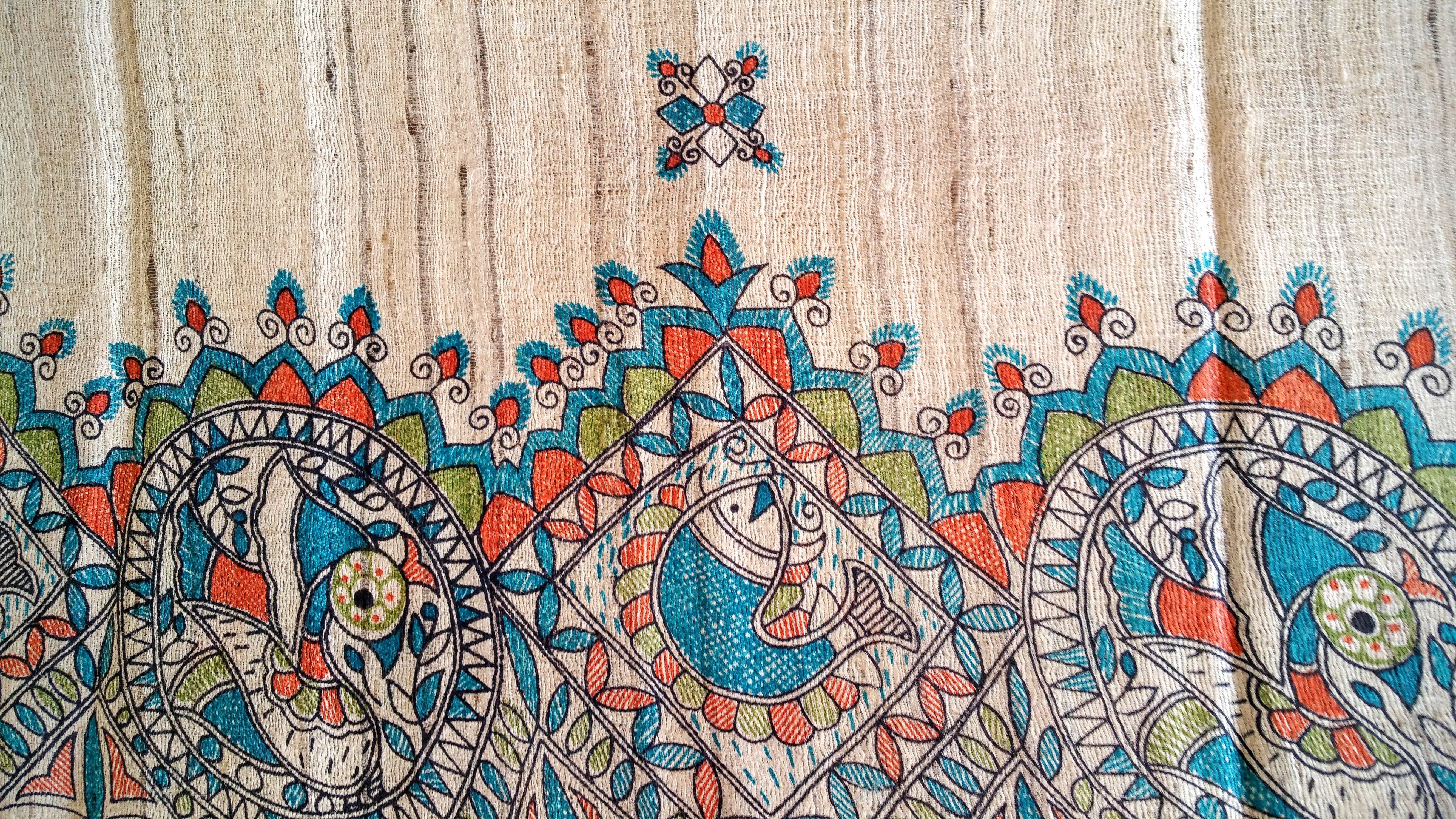 Fotos gratis : flor, naranja, patrón, verde, marrón, azul, pescado ...
