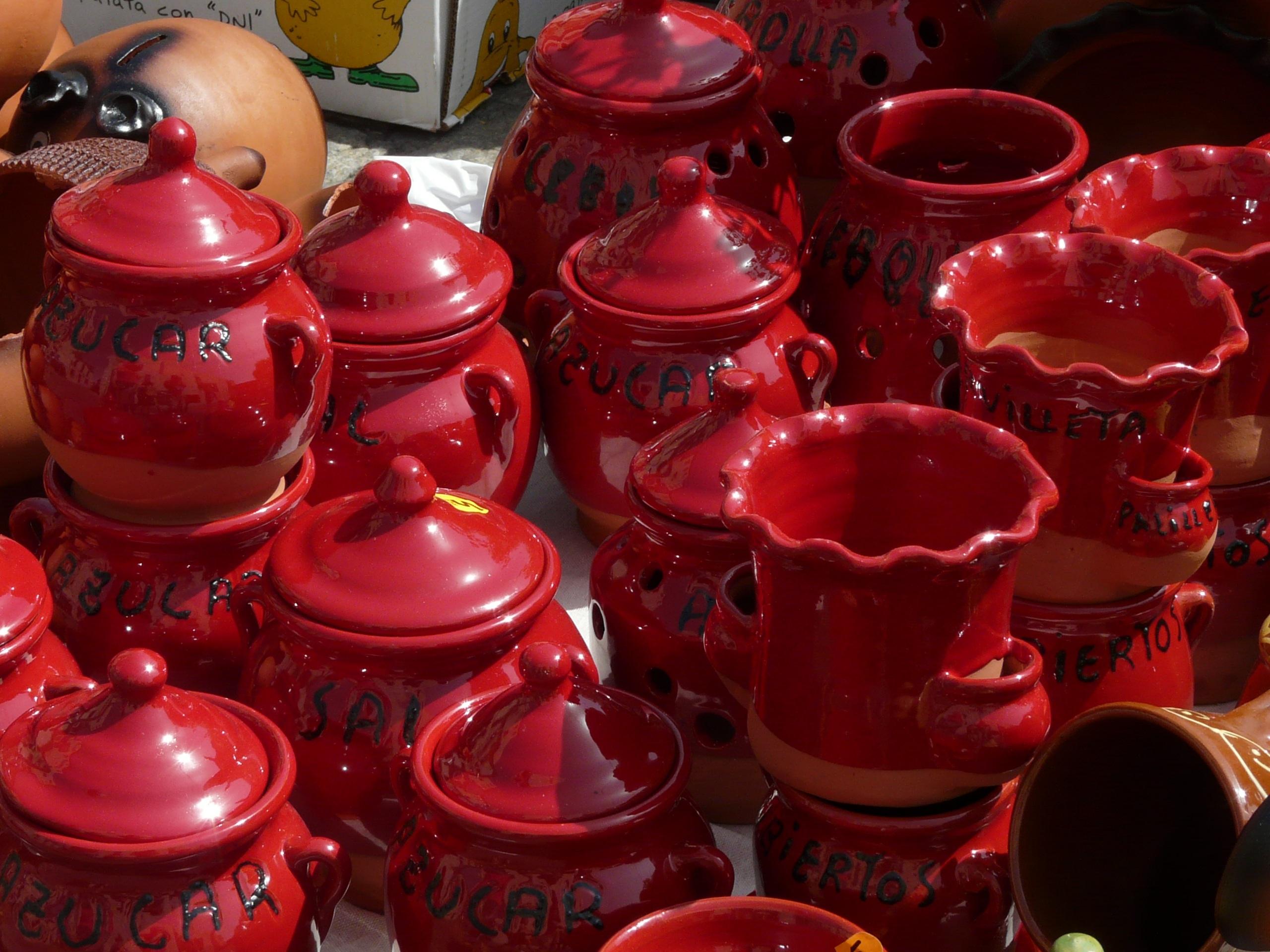 Fotos gratis : flor, pétalo, rojo, color, cerámico, cocina ...