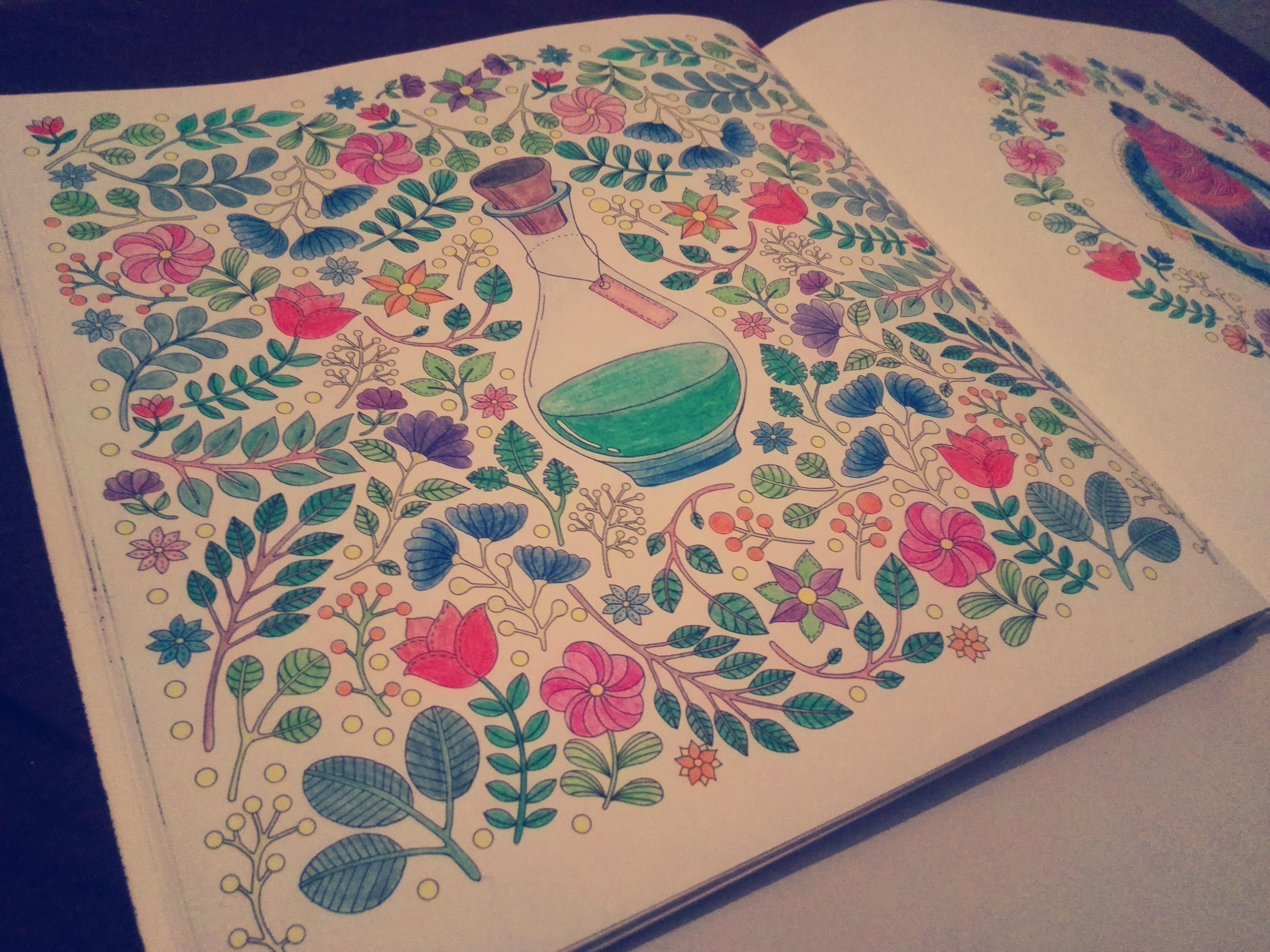 bunga rekreasi pola bahan lingkaran tekstil seni gambar Desain mewarnai anti stres buku mewarnai untuk orang