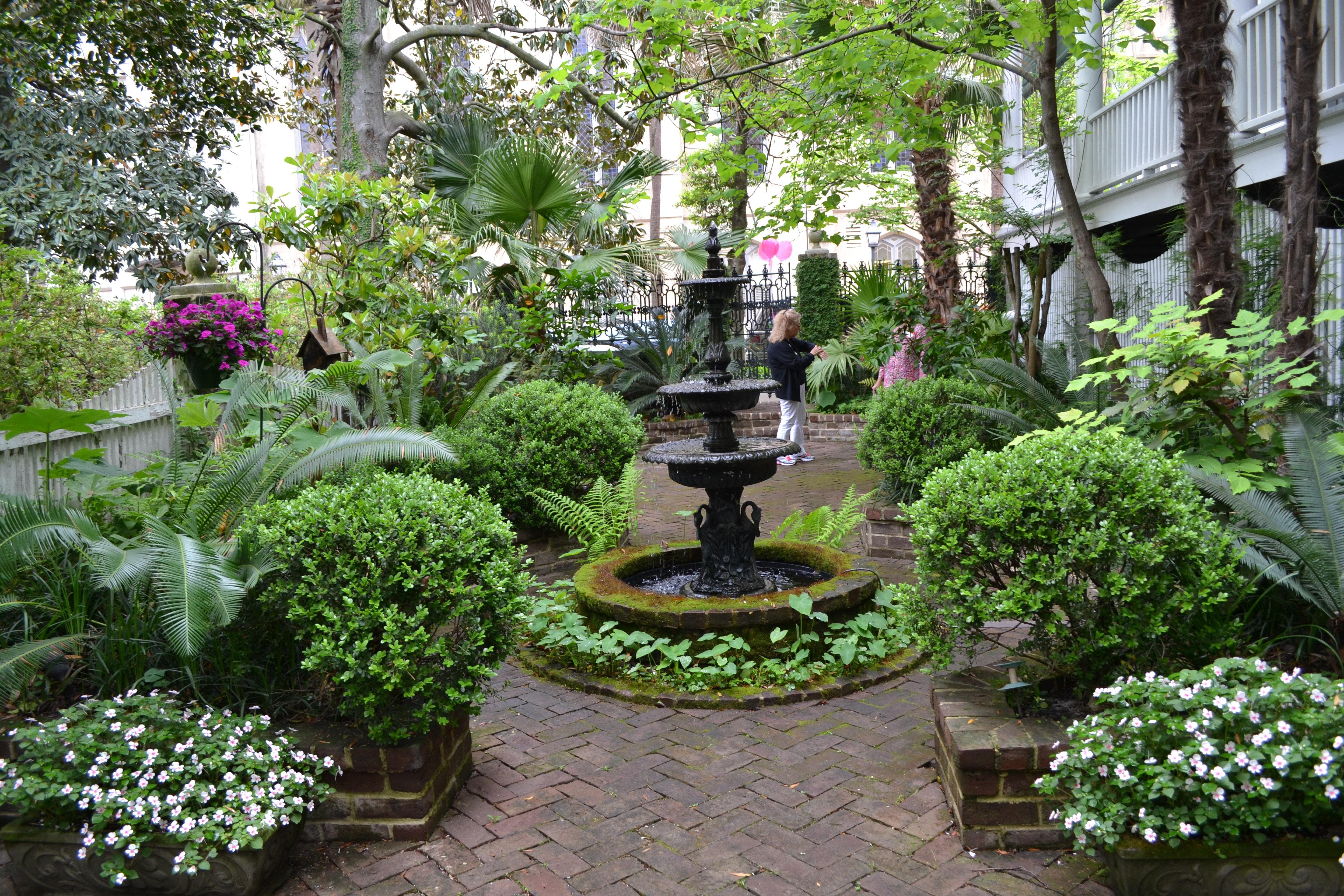 Fotos gratis : flor, paisaje, patio interior, botánica, turismo, del ...
