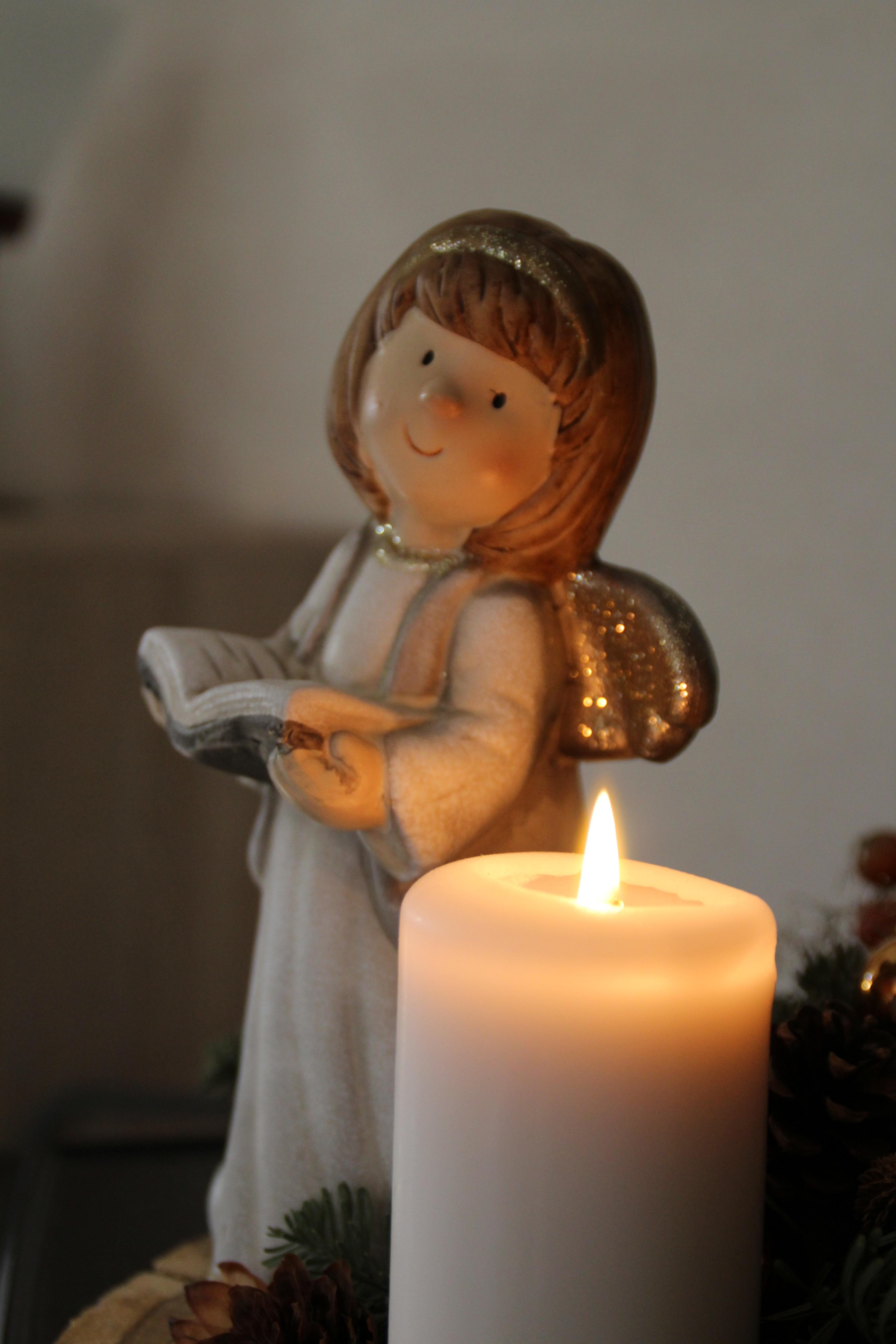Weihnachtsbilder Mit Licht.Kostenlose Foto Blume Statue Dekoration Kerze Beleuchtung