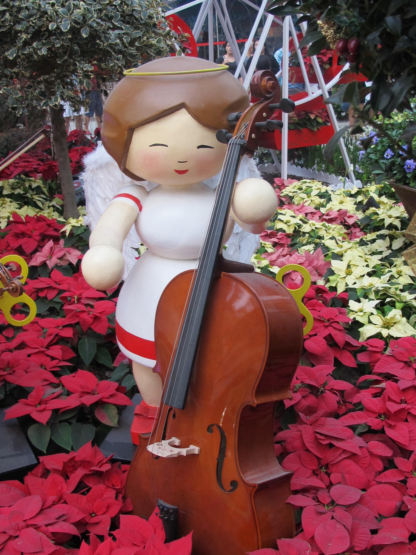 Weihnachtsessen Celle.Kostenlose Foto Blume Statue Rot Weihnachten Weihnachtsbaum