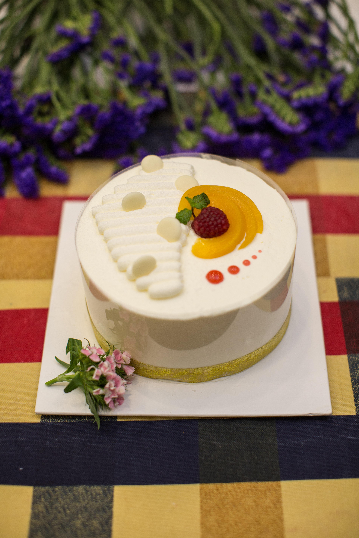 comida horneando gastrnomo postre delicioso pastel formacin de hielo sabor torta crema de mantequilla decoracin de