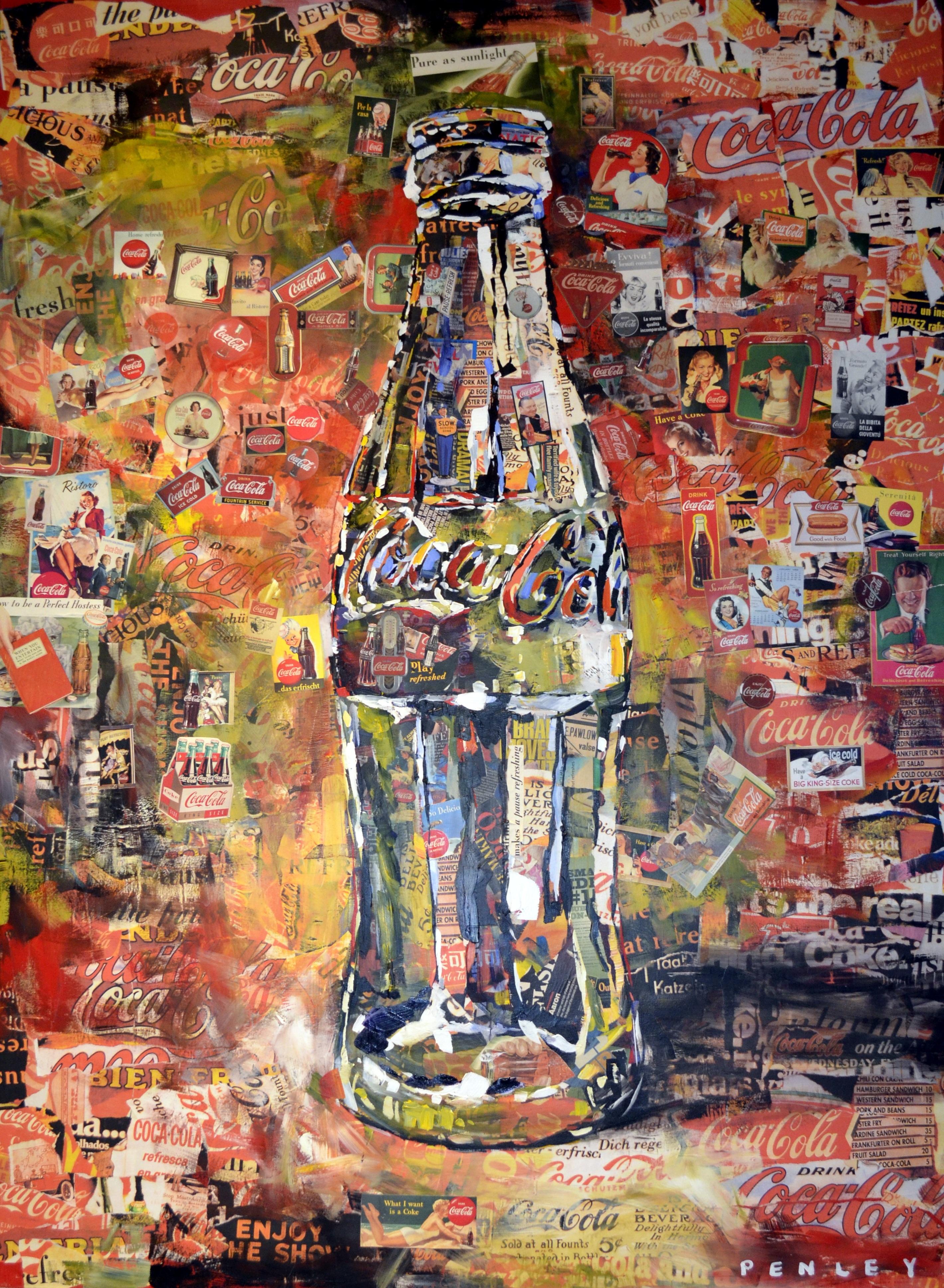 Fotoğraf Gıda Içecek şişe Duvar Yazısı Kabarcık Boyama Coca