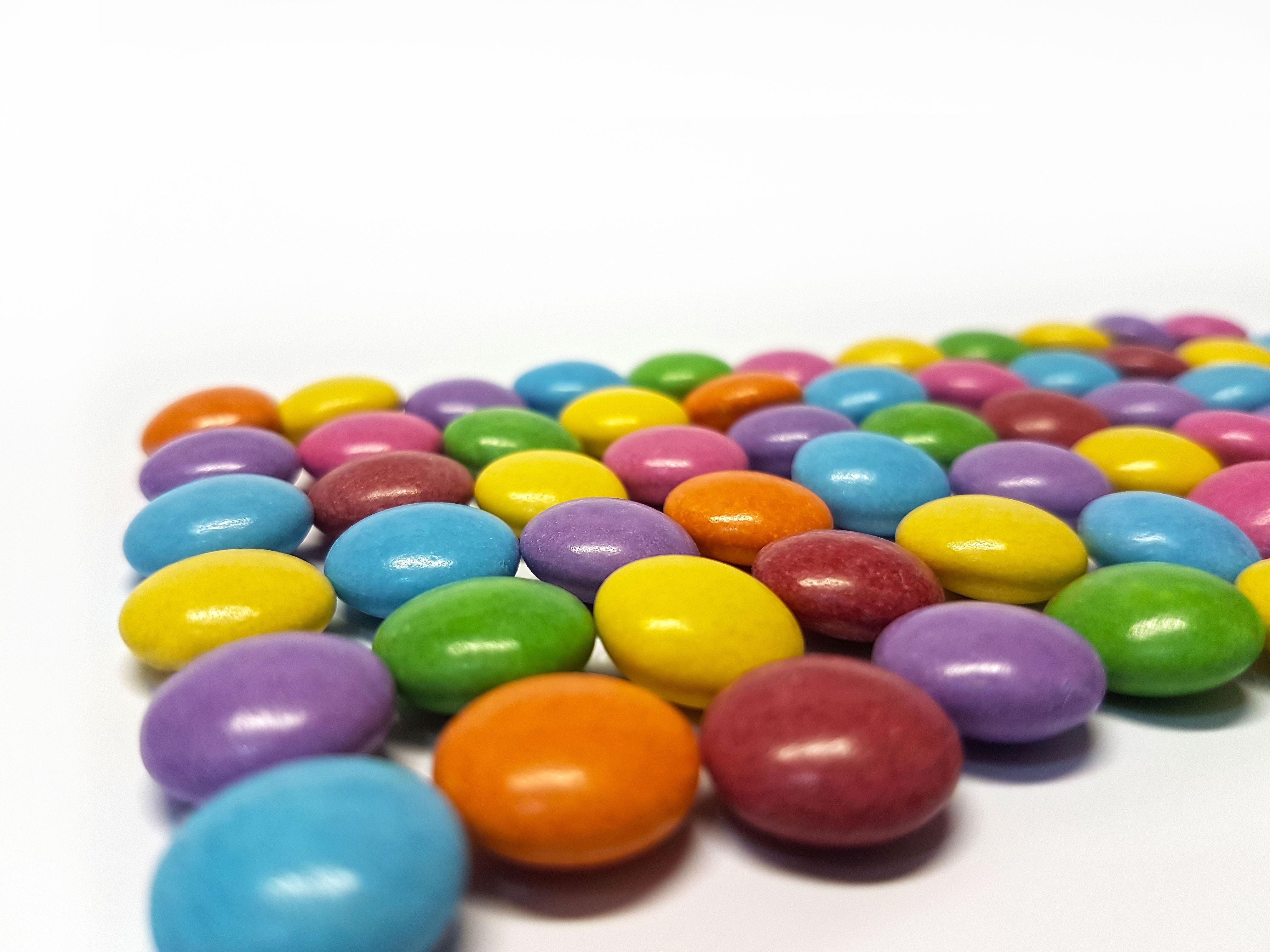 Exceptionnel Images Gratuites : aliments, Couleur, perle, dessert, Smarties  LV67