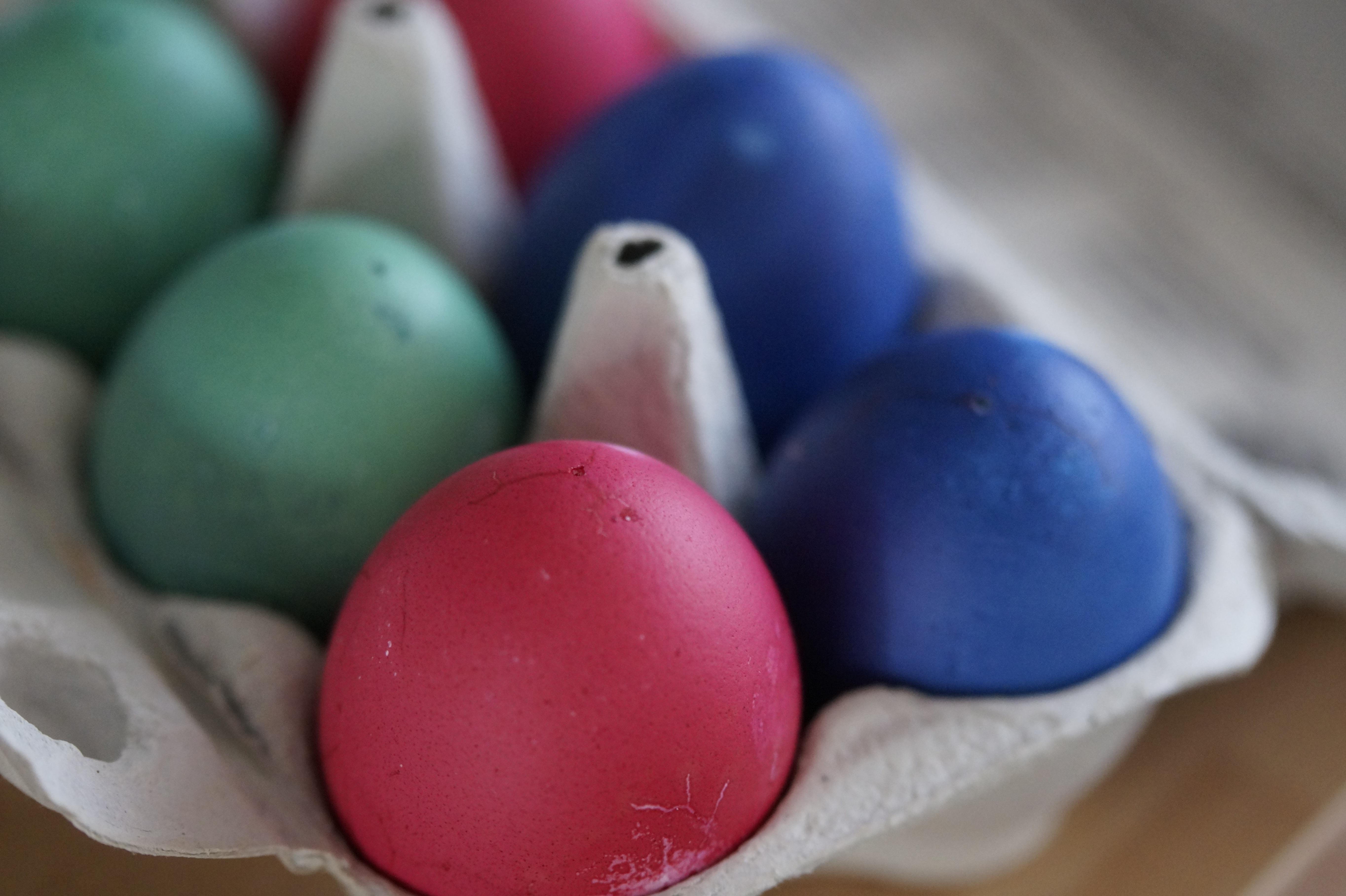 fotos comida color pintar vistoso postre pascua de
