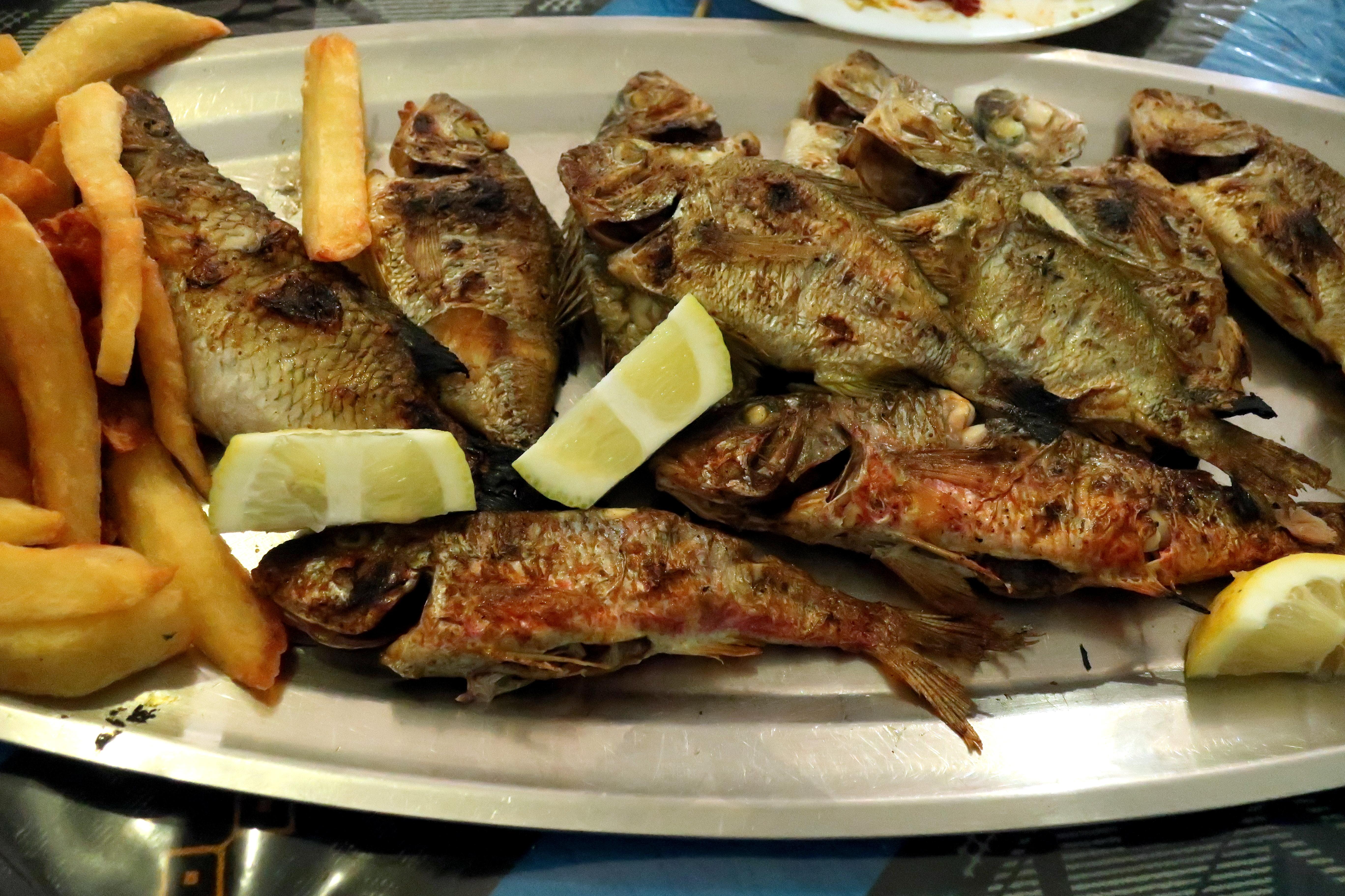 Gambar Ikan Goreng Shishamo Ikan Bakar Makanan Laut Pescado