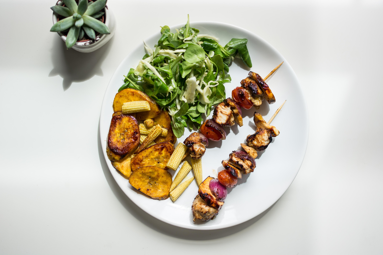 ingredient, vegan nutrition, brochette