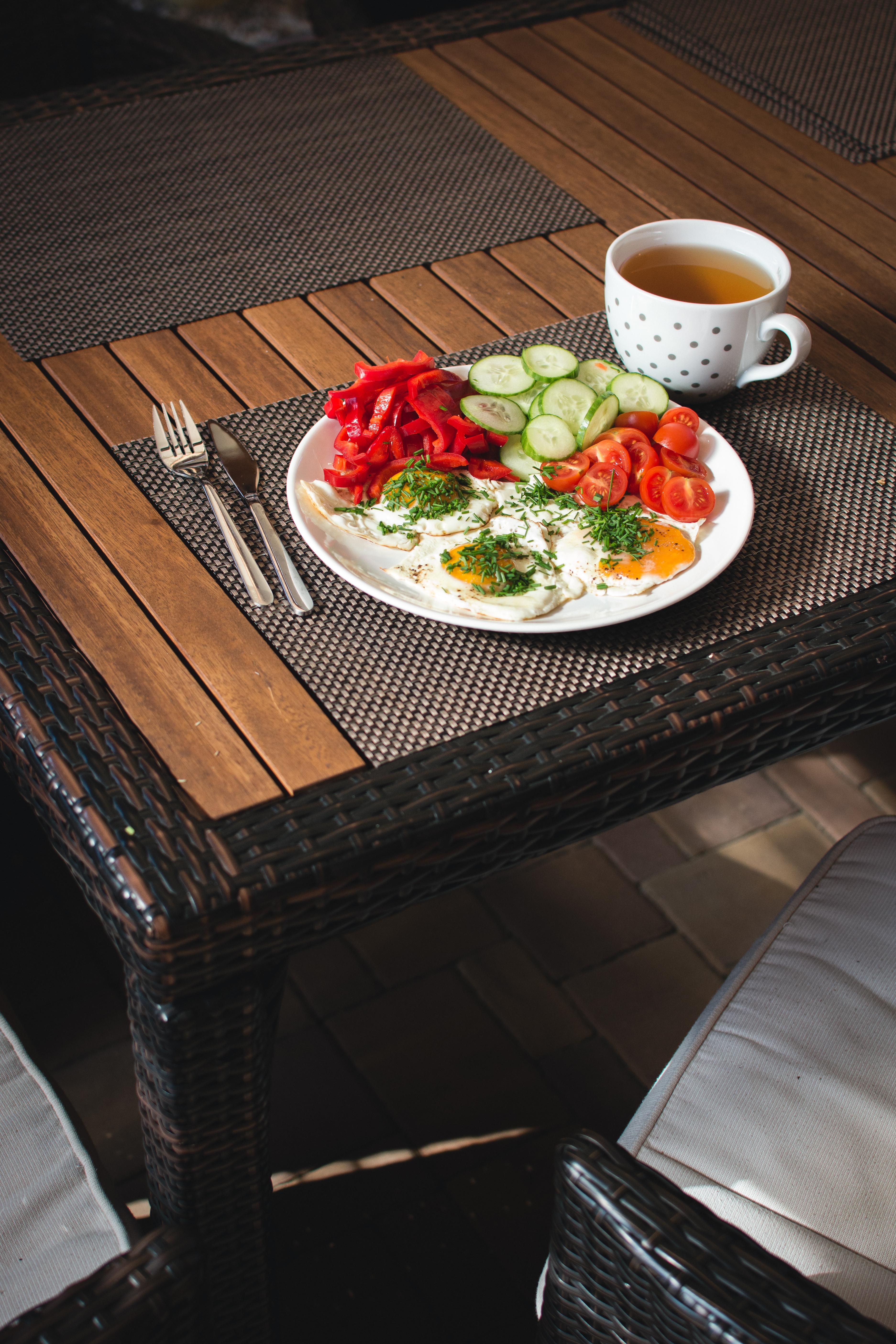 Стол с едой картинки вид прямо