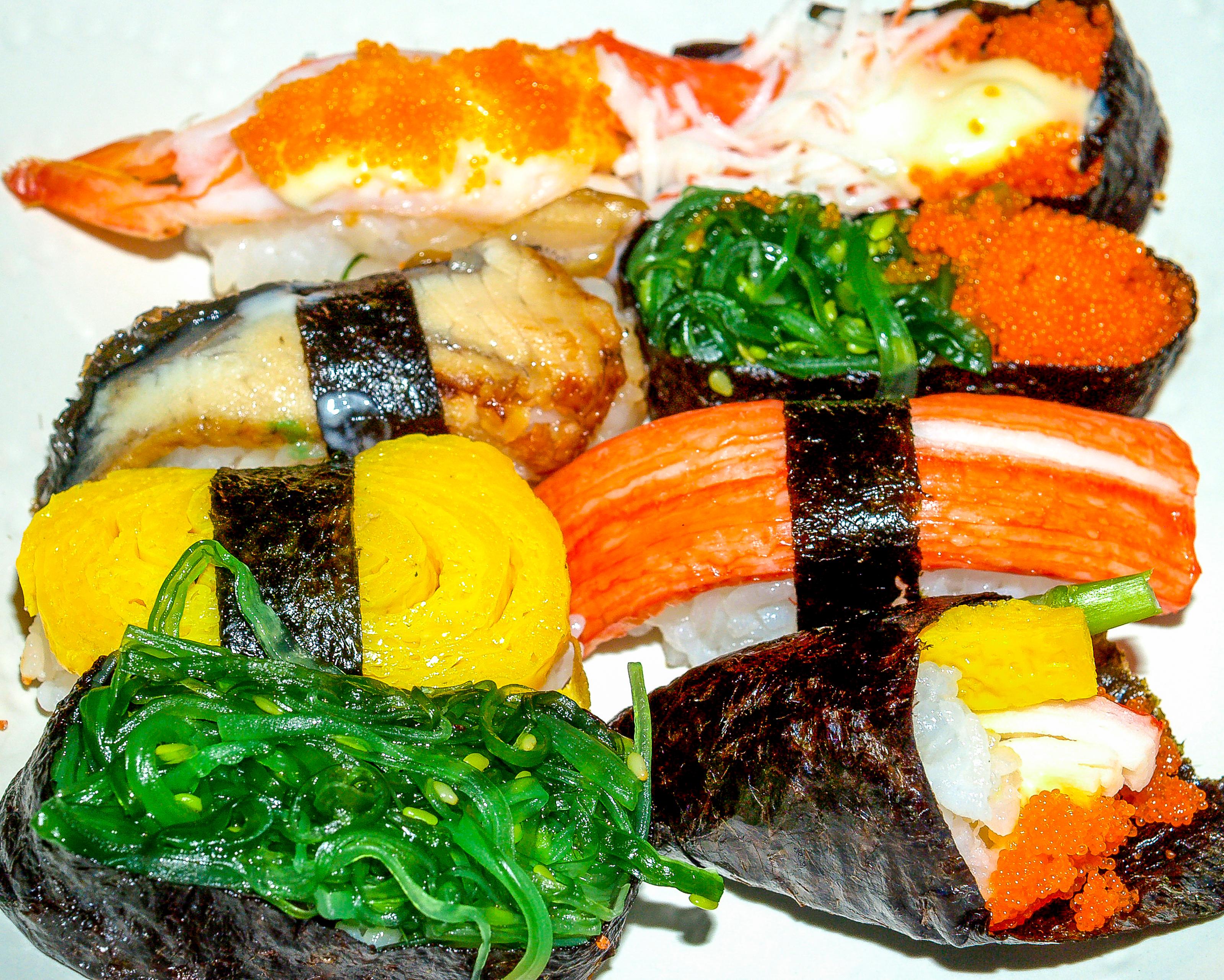 Banco De Imagens Japon S Arroz Peixe Sushi Tradicional