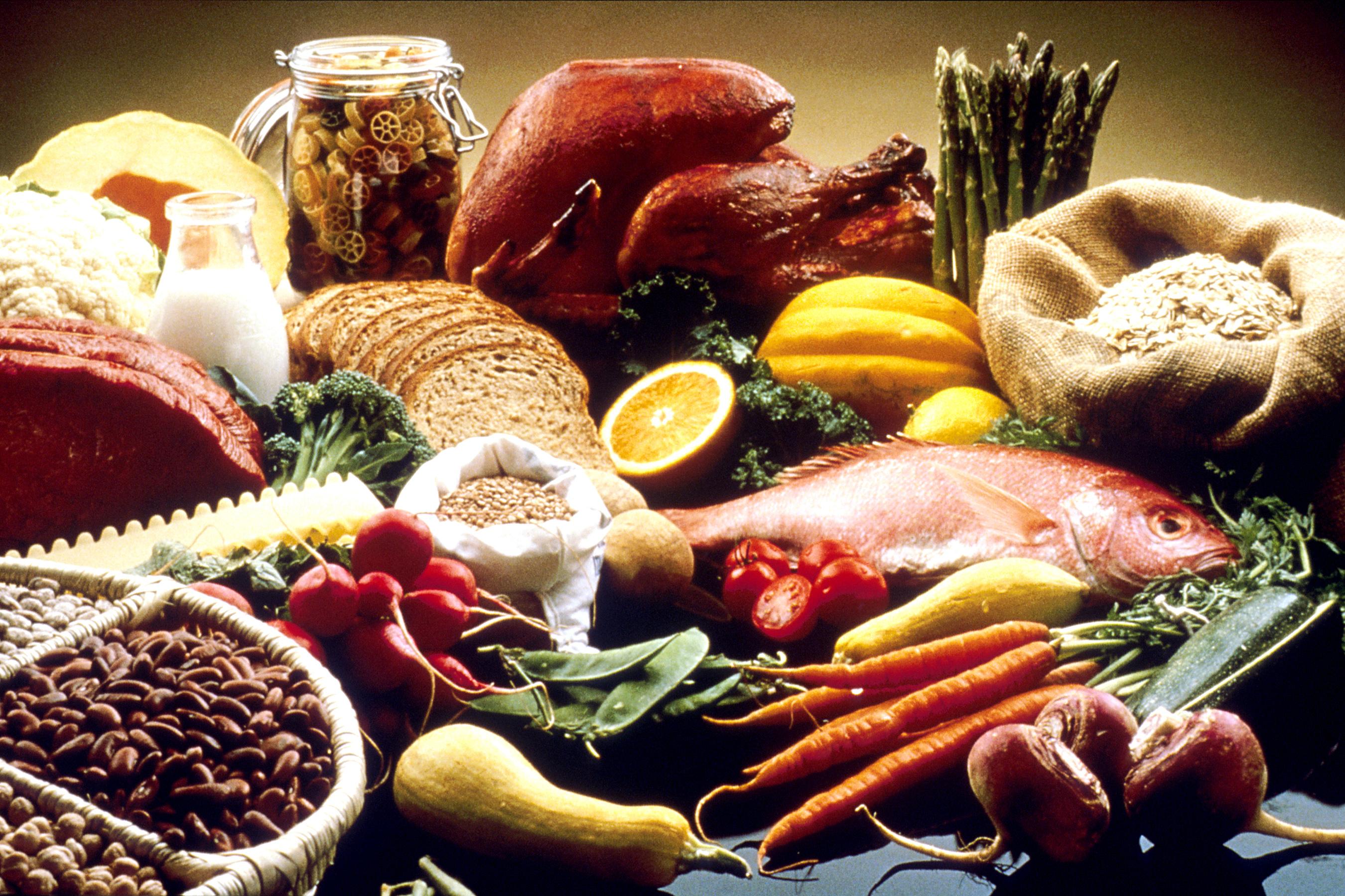 горизонтальная еда в картинках продукты питания конструкции считаются