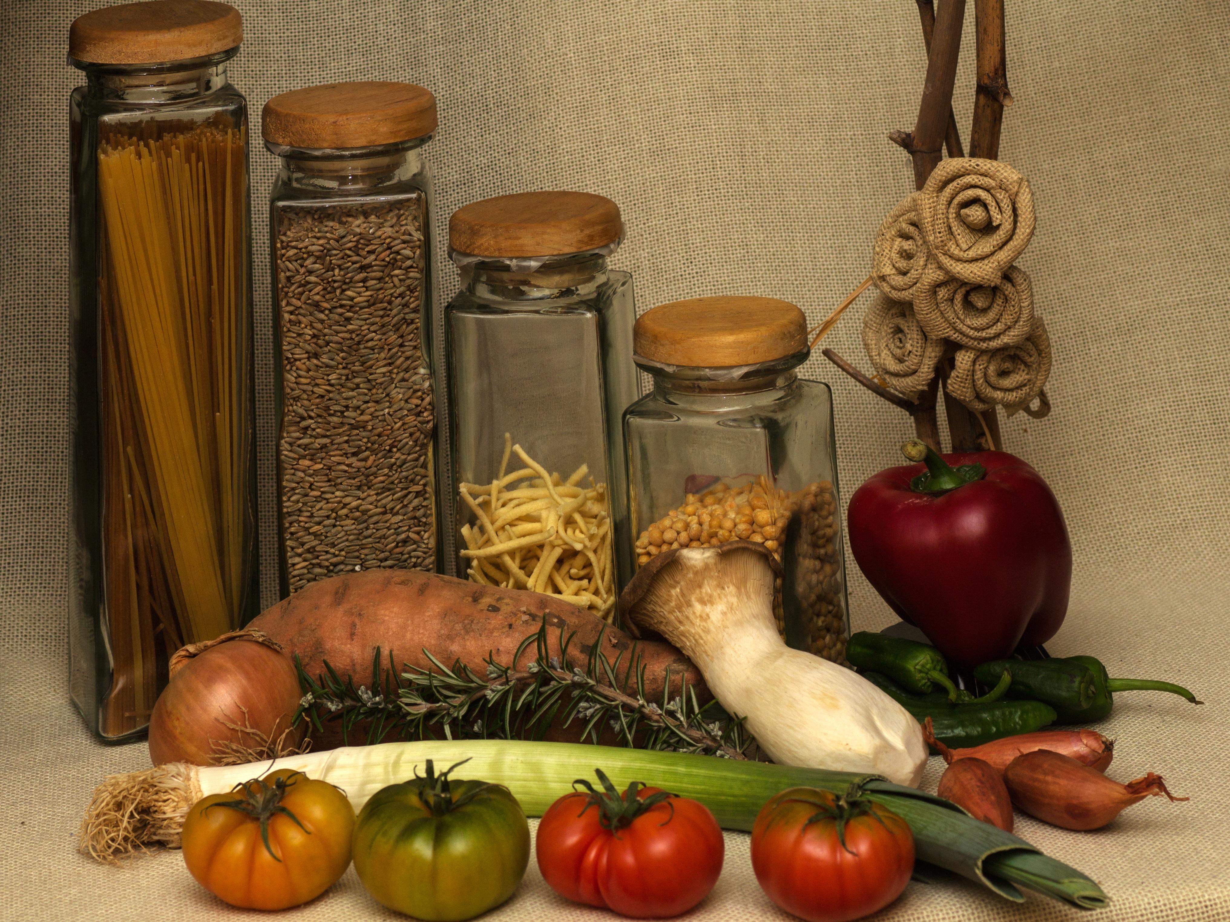 Kostenlose foto : Lebensmittel, produzieren, Gemüse, Malerei, Nudeln ...