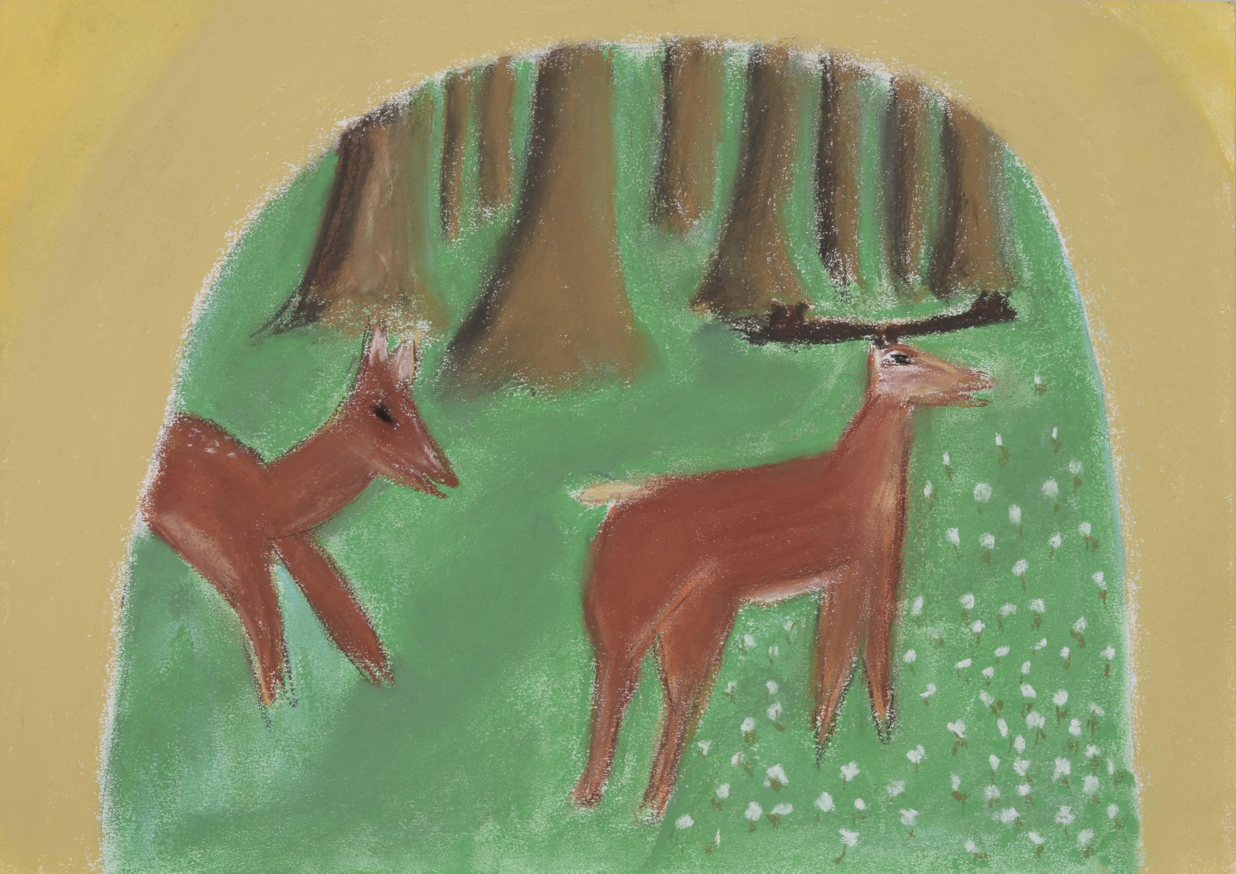 Images Gratuites Forêt Animal Sauvage Cerf Vert Mammifère La