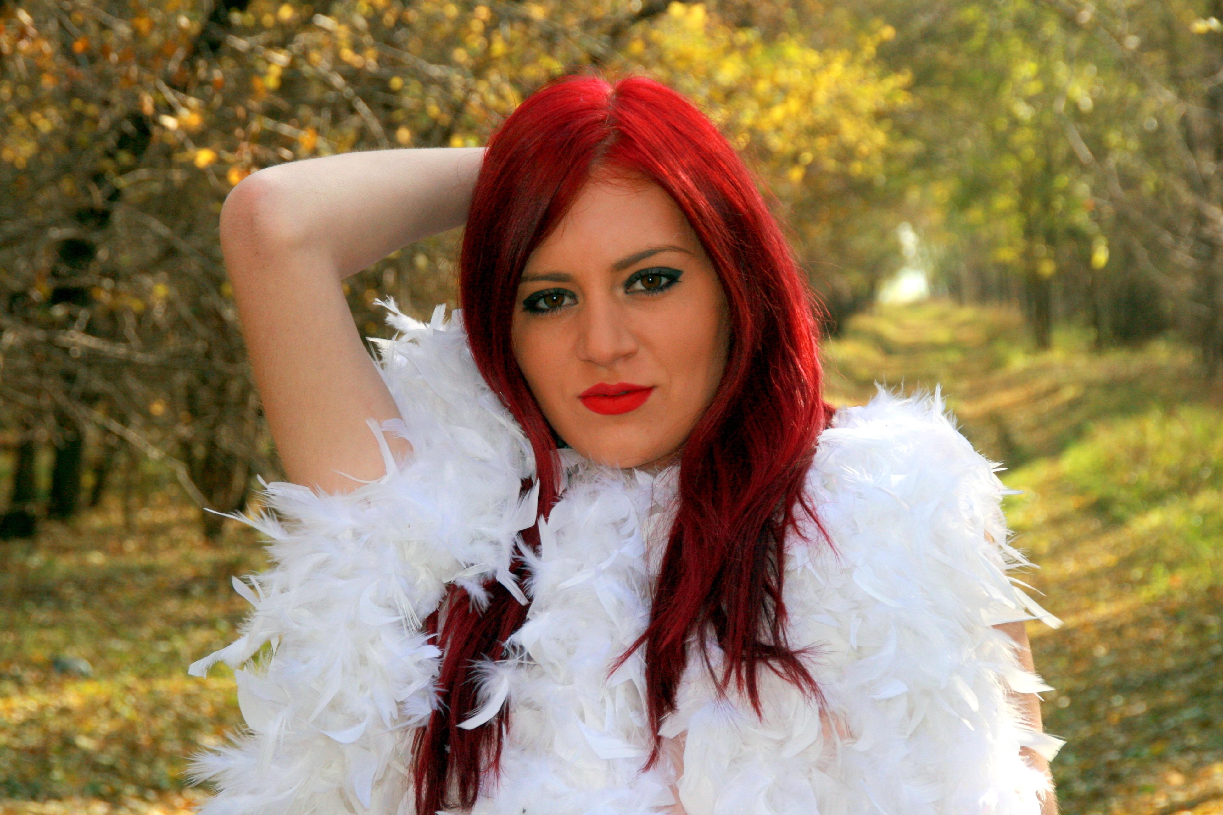 Couleur vetement pour cheveux roux