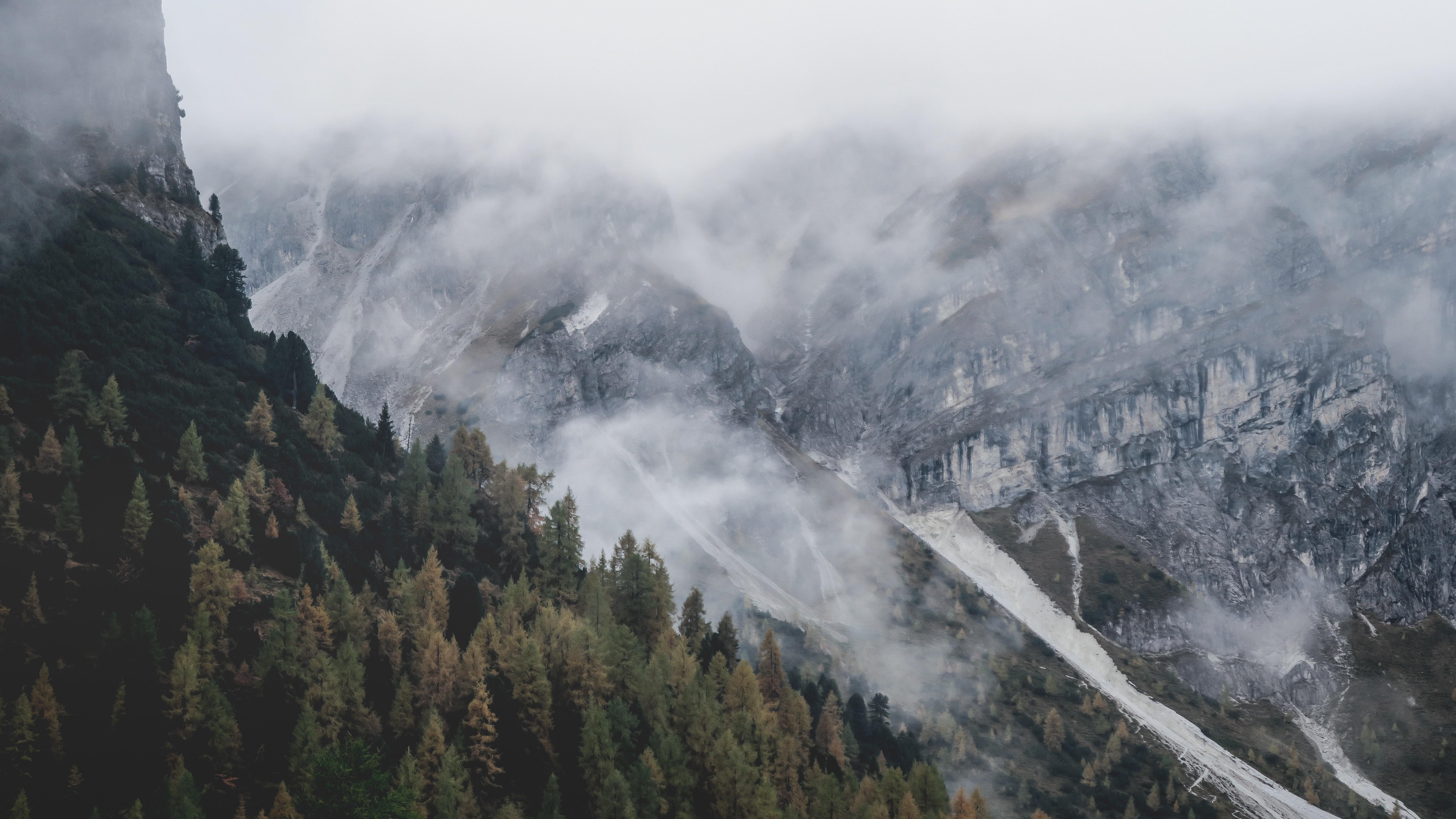 Free Images : wilderness, fog, mist, adventure, valley ...