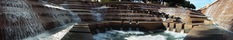 Fort Worth, Water Garden, Water, Landmark, Historic Site, Tourist Attraction