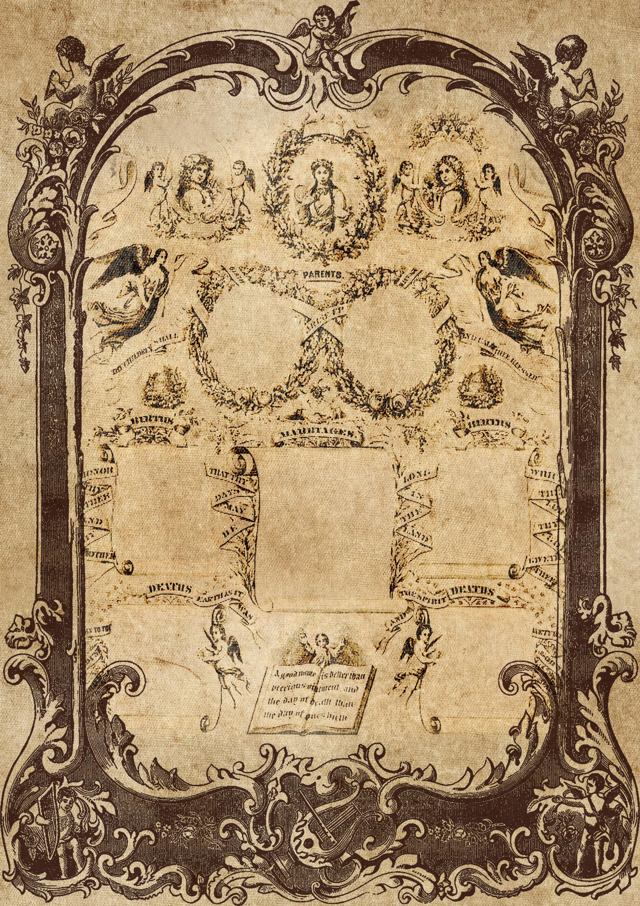 Images Gratuites Cadre Family Record Cru Antique Victorien
